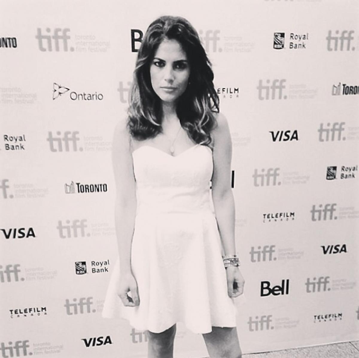 Weronika Rosati na festiwalu TIFF w Kanadzie