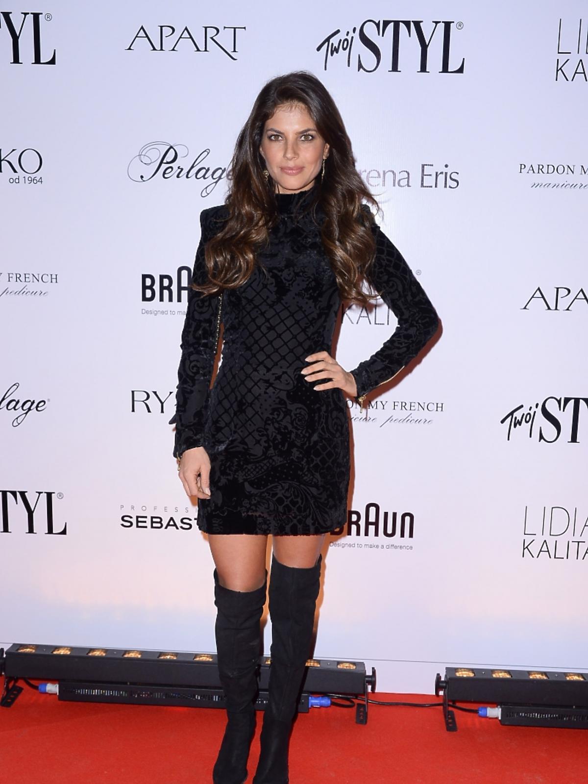 Weronika Rosati na imprezie Doskonałość Mody Twojego Stylu