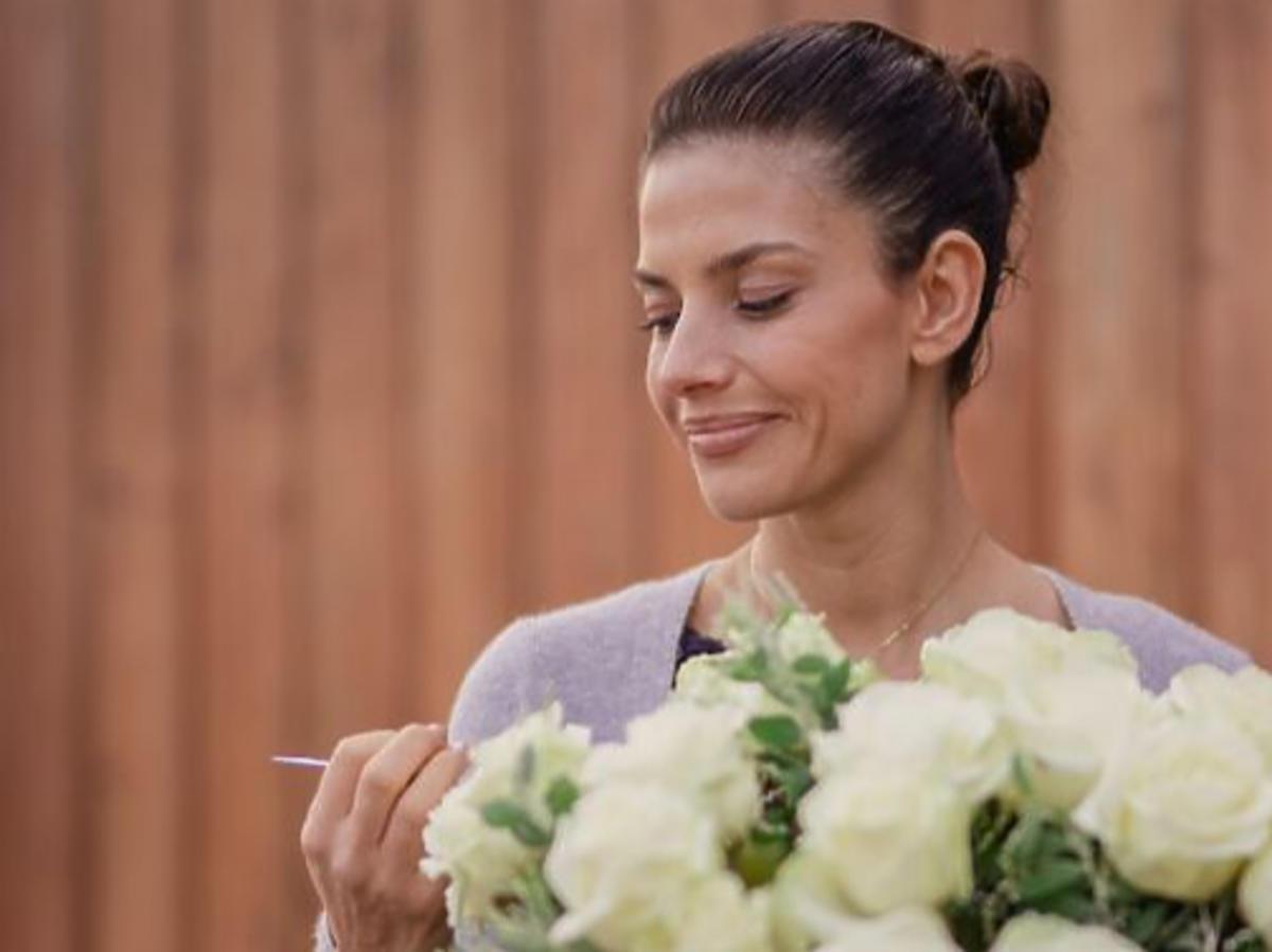 Weronika Rosati na planie serialu Zawsze warto
