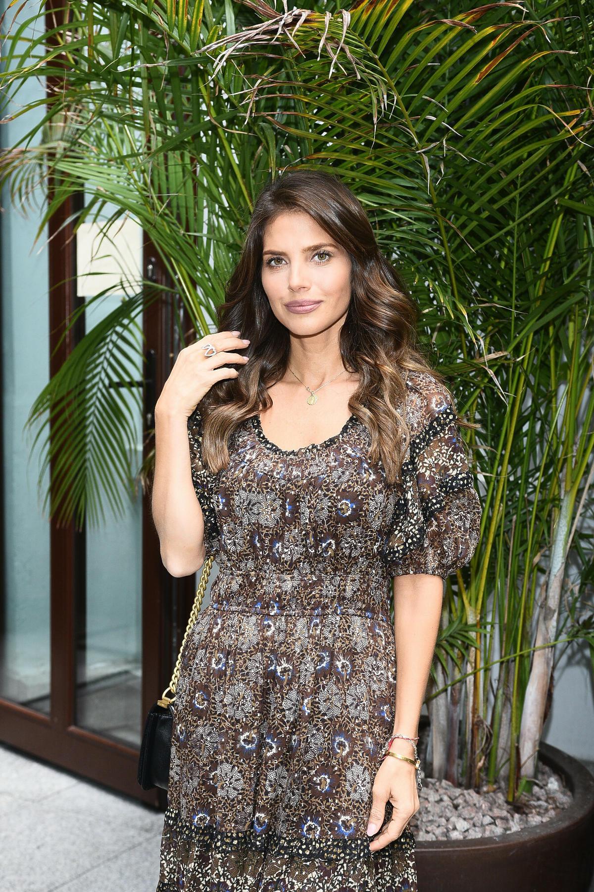 Weronika Rosati promuje swoją markę kosmetyczną