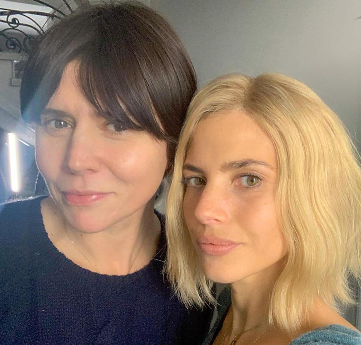 Weronika Rosati w blond włosach