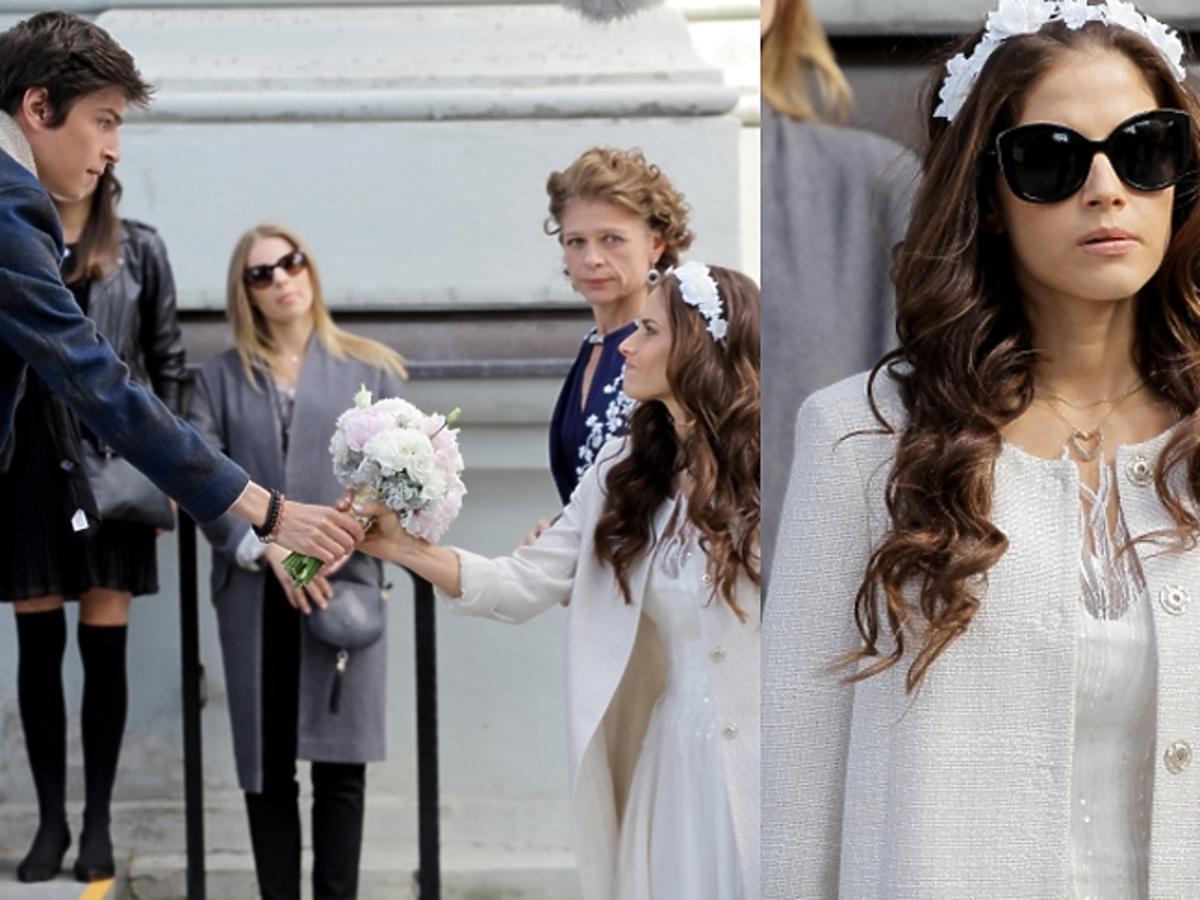 Weronika Rosati w sukni ślubnej w Powiedz TAK!