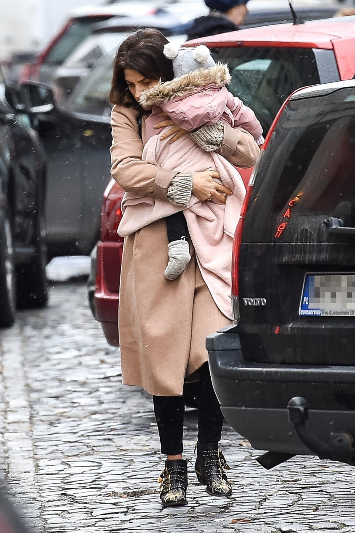 Weronika Rosati z córką