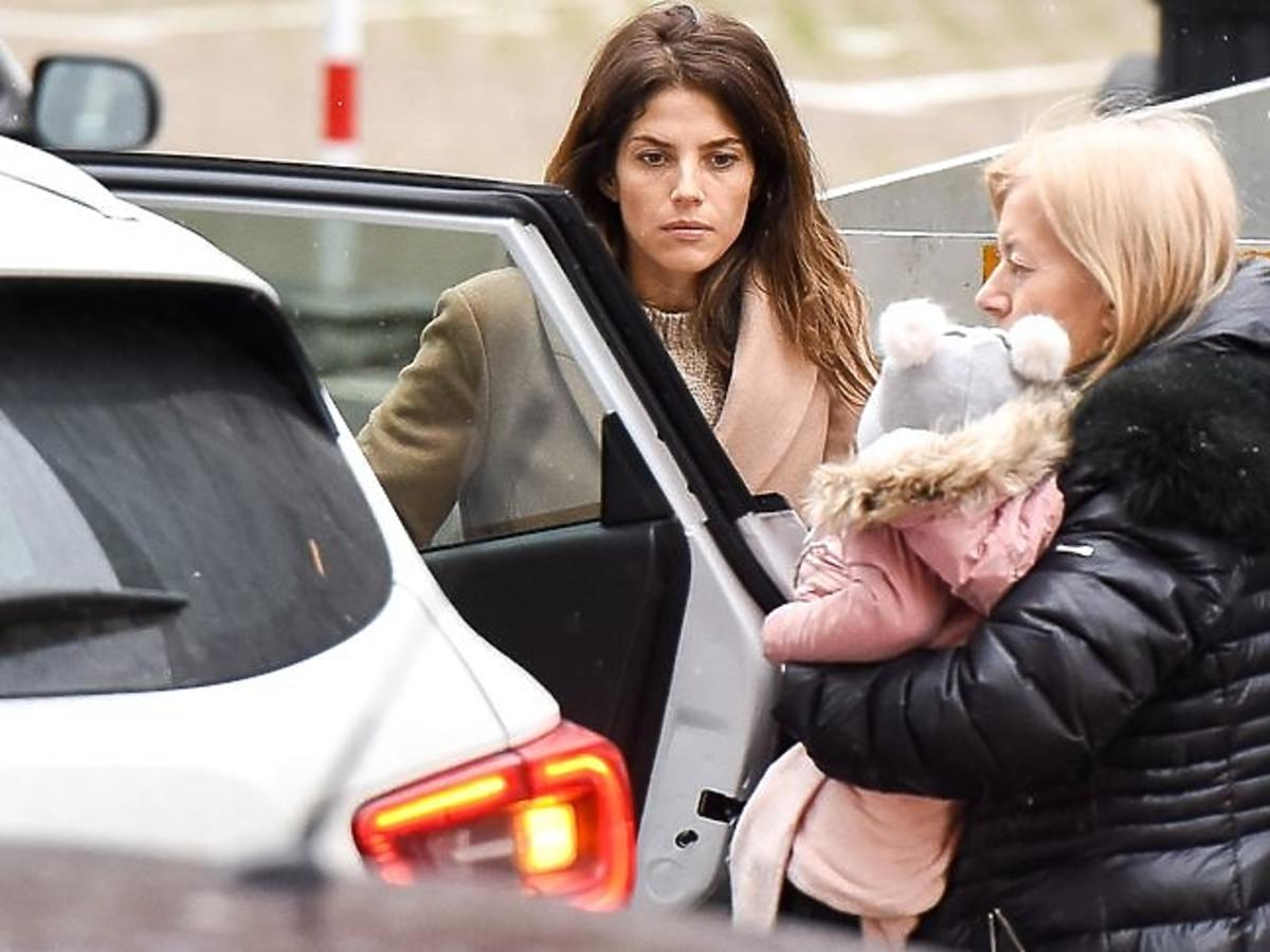 Weronika Rosati z mamą i córką