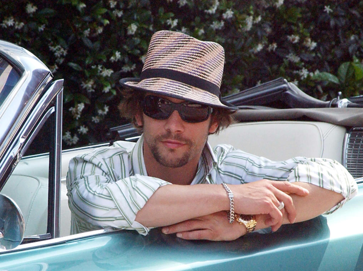 Wielbiciel samochodów i motoryzacji Jay Kay z zespołu Jamiroquai