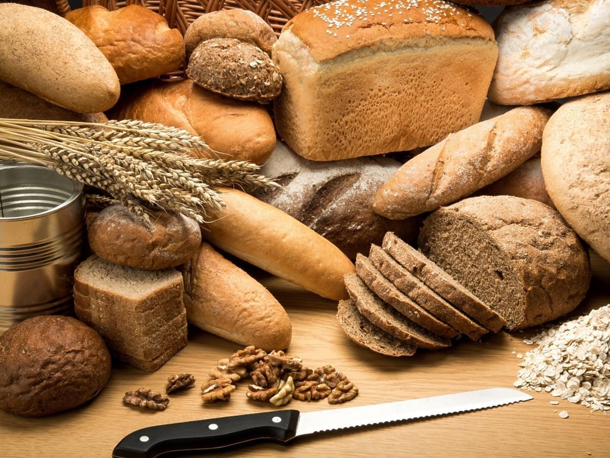 wiele rodzajów chleba