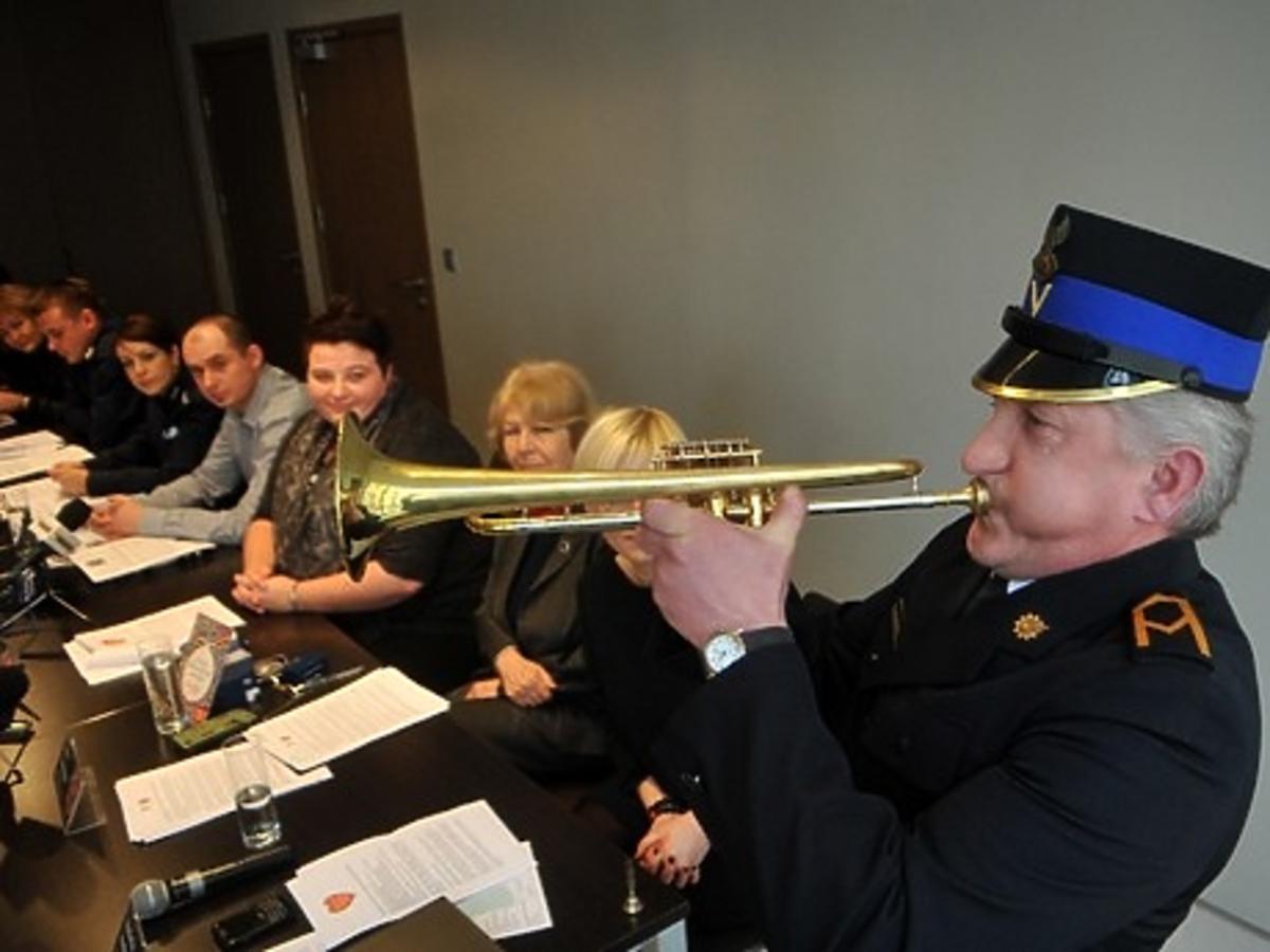 Wielka Orkiestra Świątecznej Pomocy - trąbka z Wieży Mariackiej