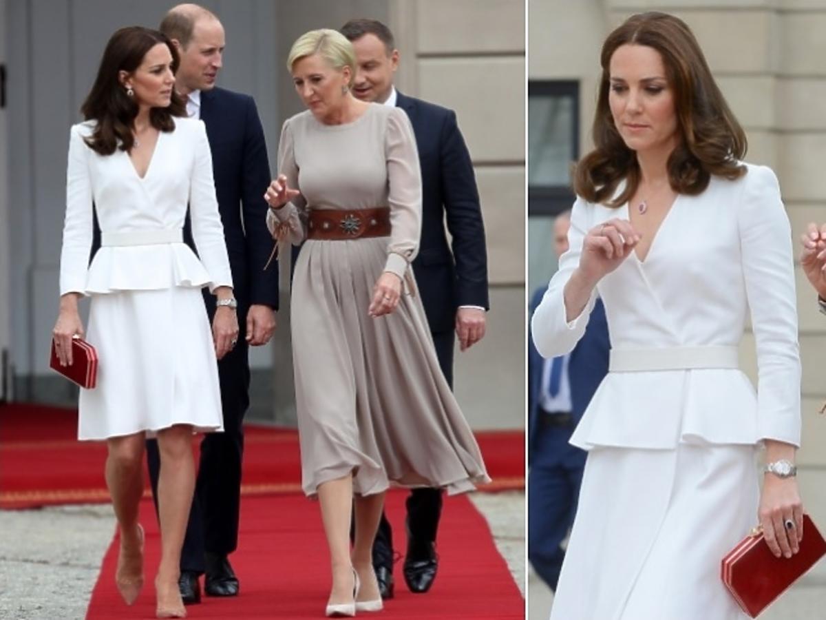 """Wiemy, o czym Agata Duda rozmawiała z księżną Kate! """"Księżna zwierzyła się Pierwszej Damie..."""""""