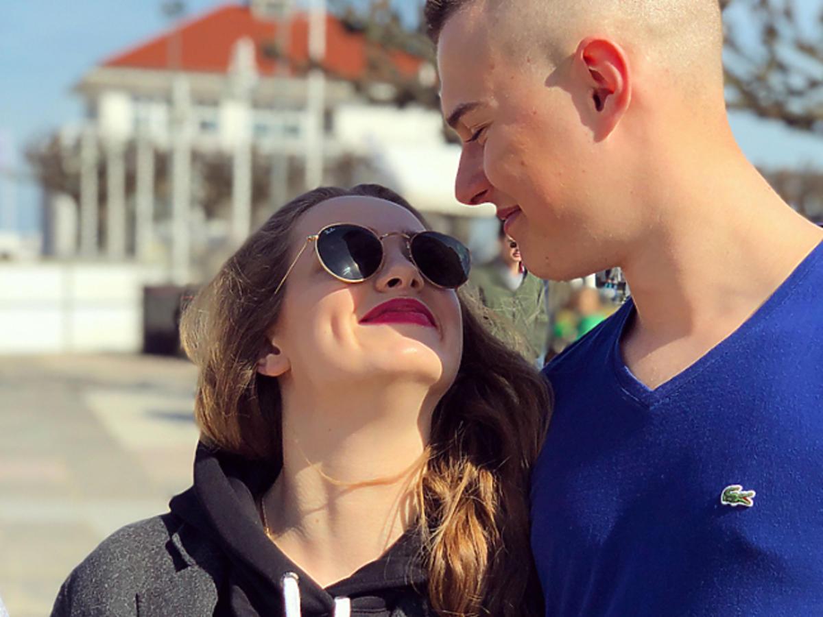 Wiktoria Gąsiewska i Adam Zdrójkowski na wakacjach