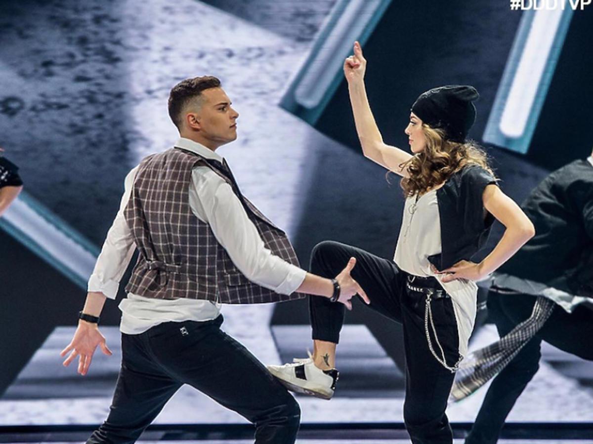 Wiktoria Gąsiewska i Adam Zdrójkowski tańczyli do utworu My love