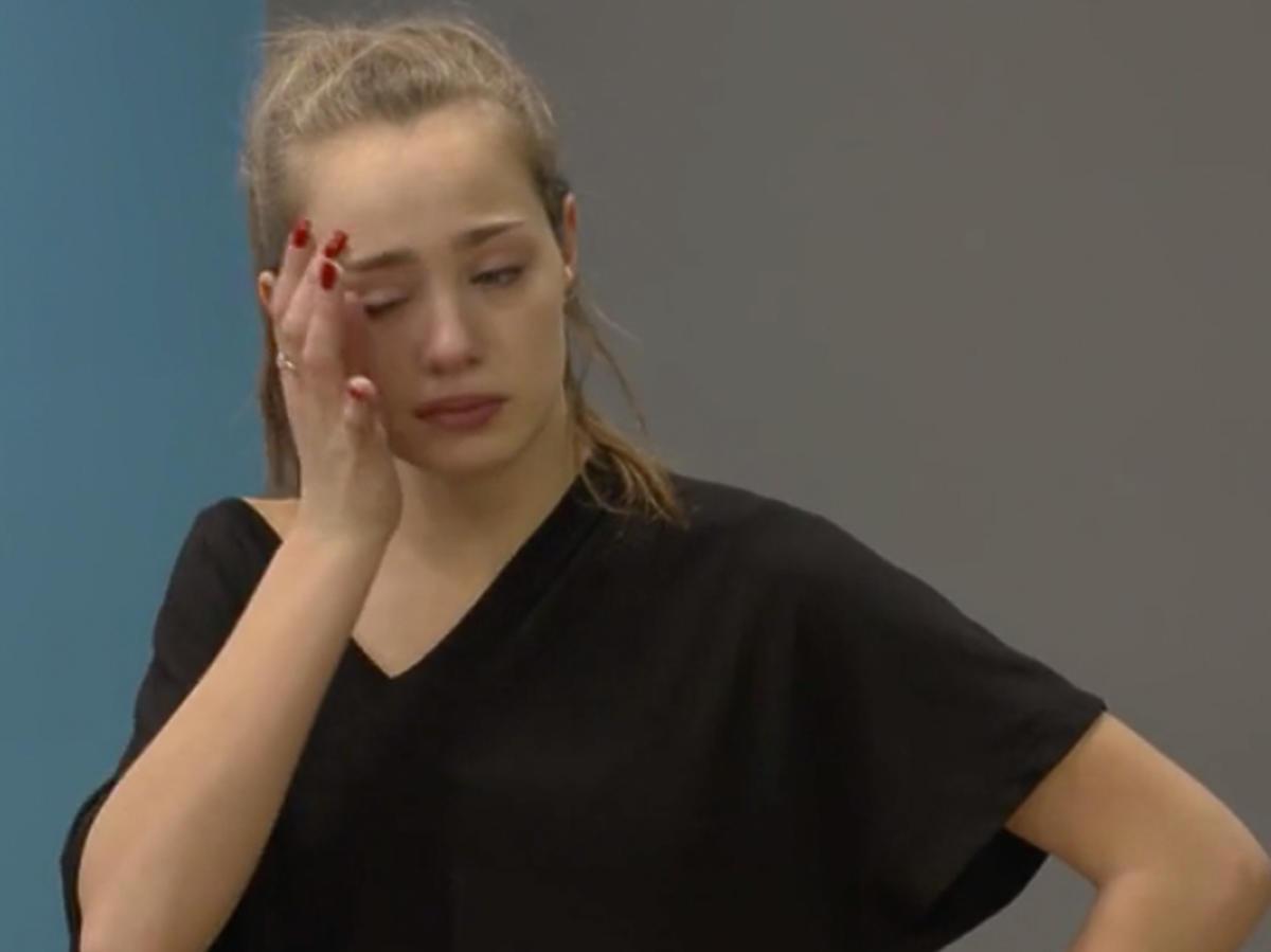 Wiktoria Gąsiewska płacze na planie Dance dance dance