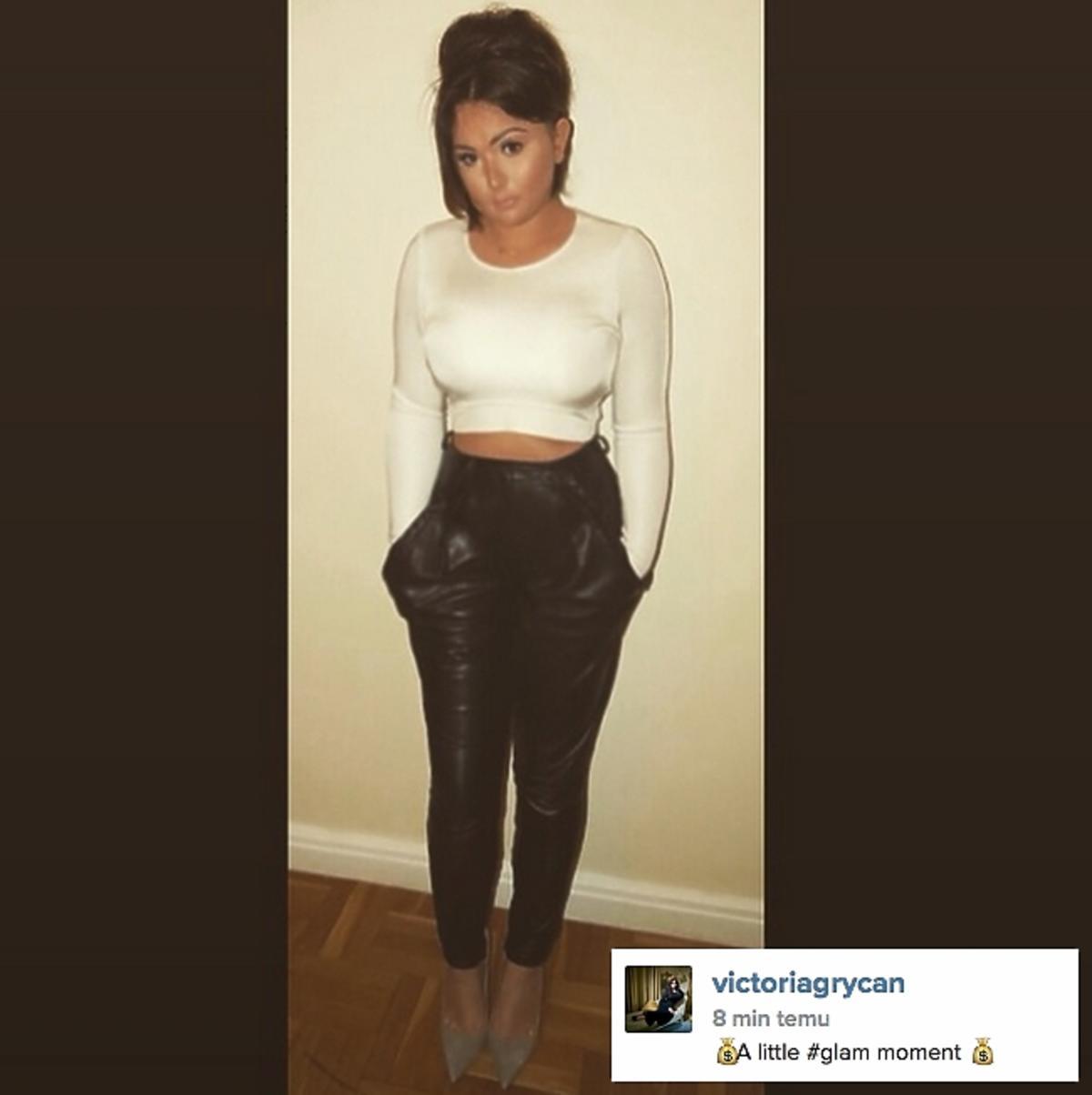 Wiktoria Grycan kopiuje Kim Kardashian