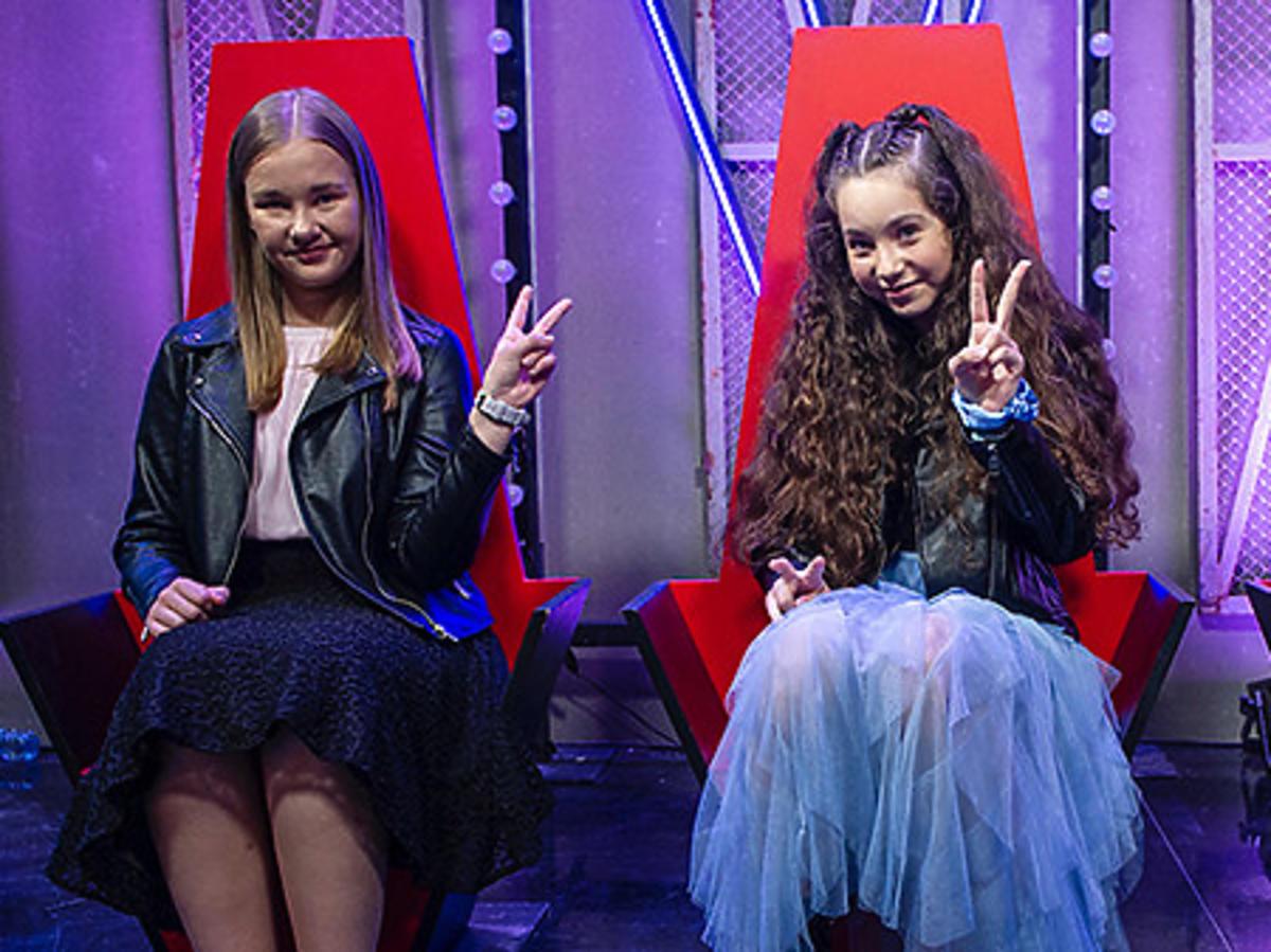 """Wiktoria Wiater, Kasia Żur i Magda Siedlok w """"The Voice Kids"""""""