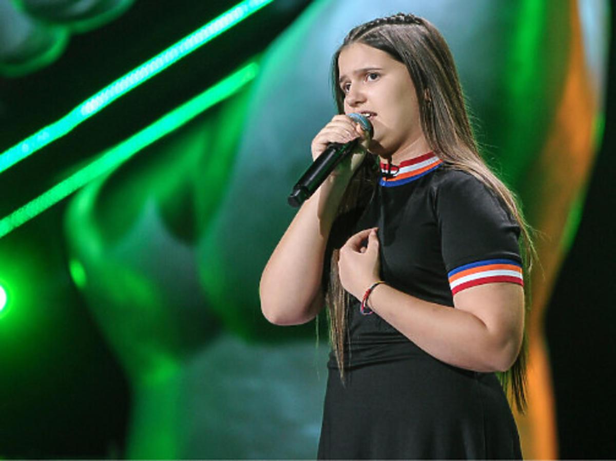 Wiktoria Zwolińska w The Voice Kids