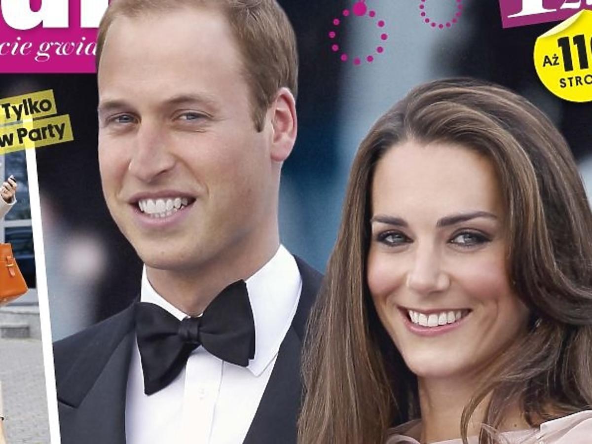 """William i Kate na okładce """"Party"""""""