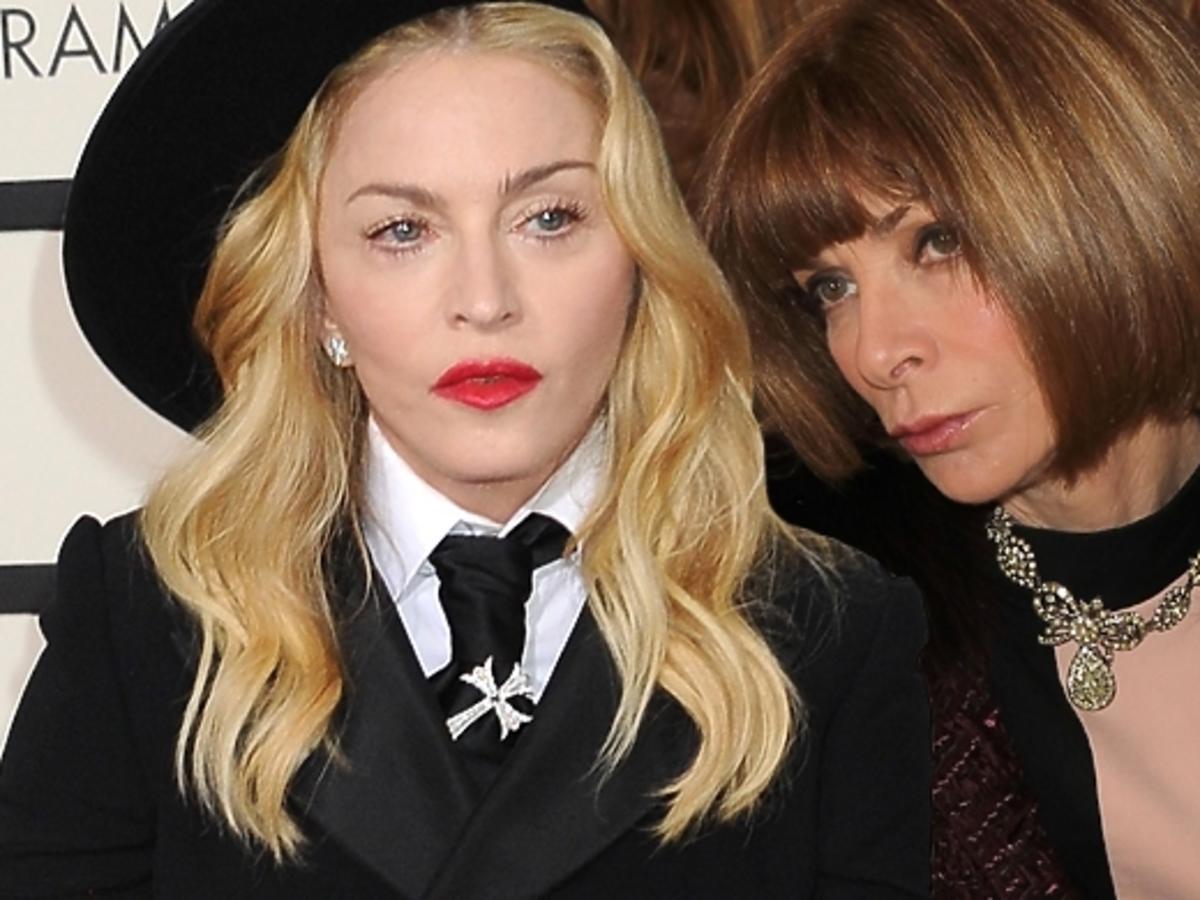 Wintour zablokowała kreację Madonny