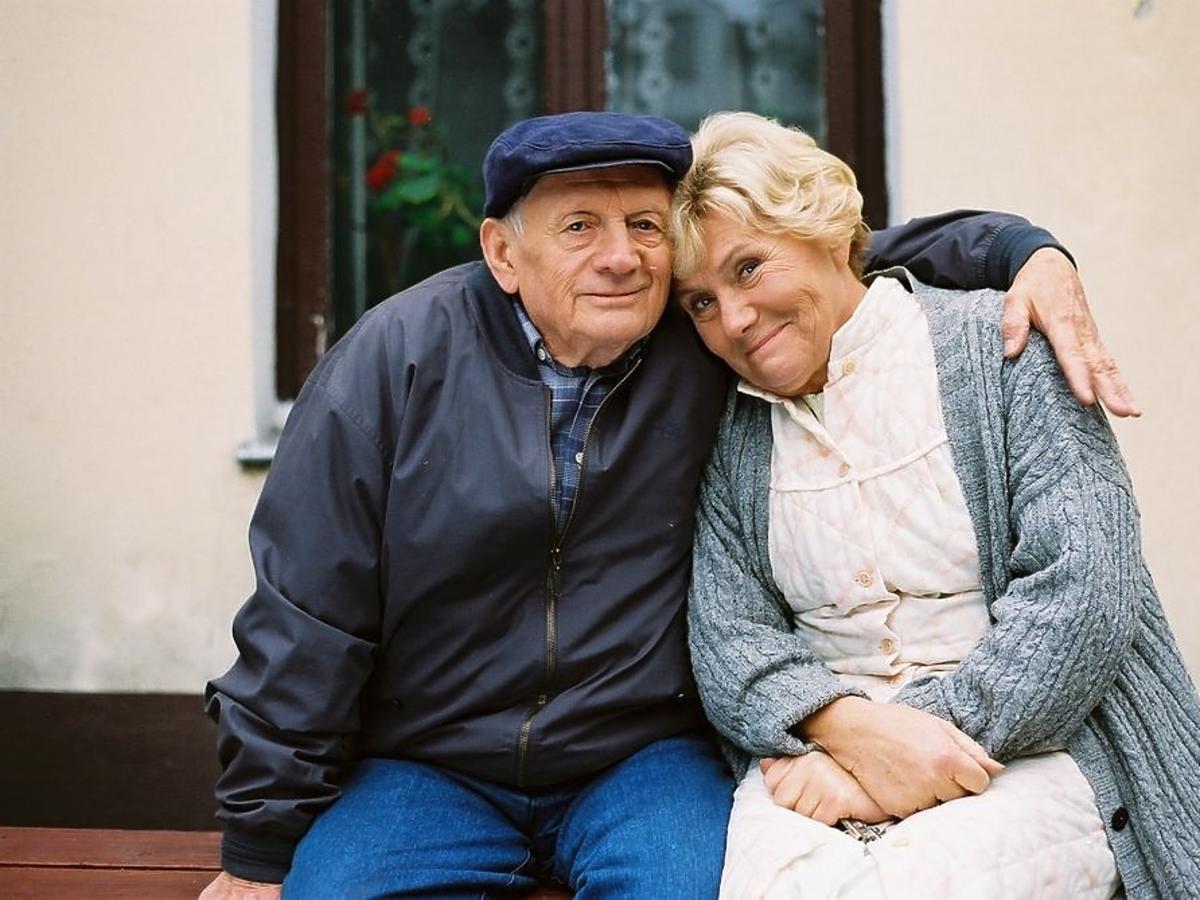Witold Pyrkosz i Teresa Lipowska w M jak miłość