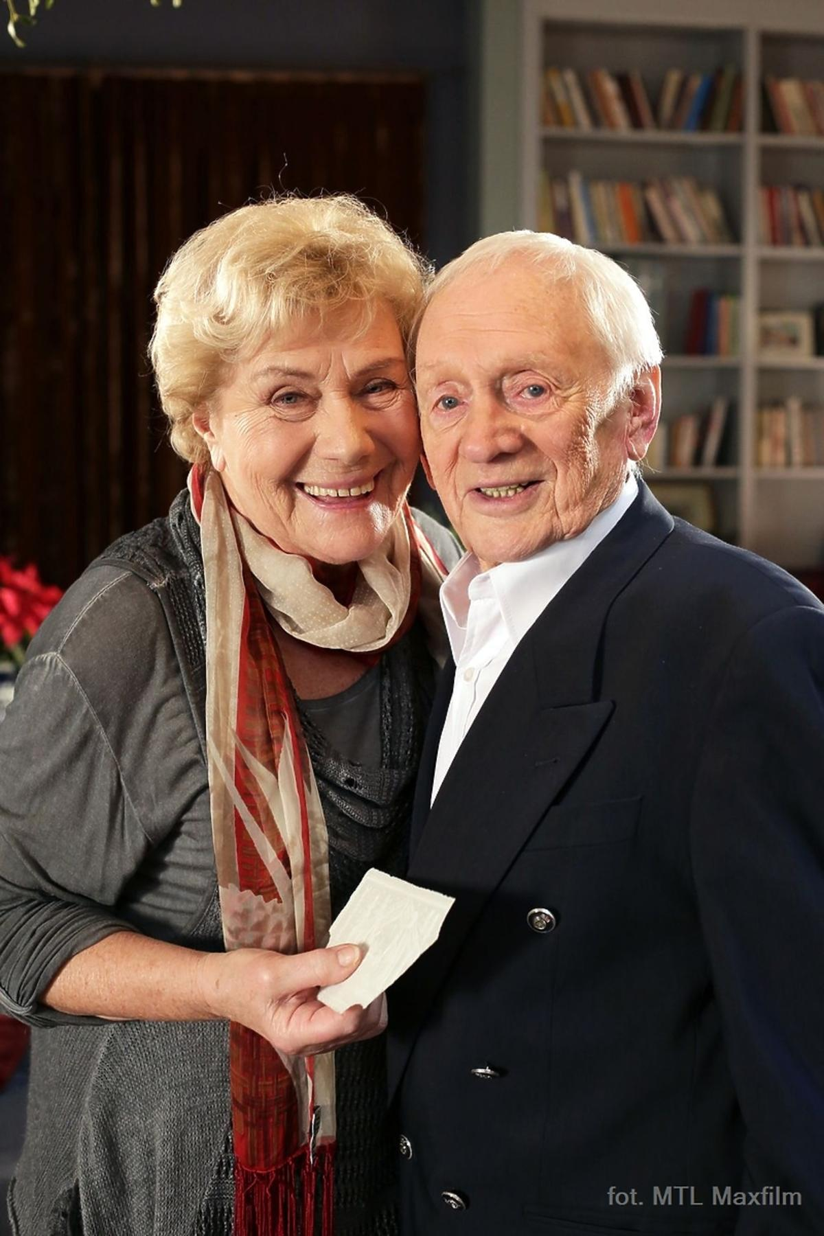 Witold Pyrkosz skończył 90 lat. Urodziny na planie M jak miłość