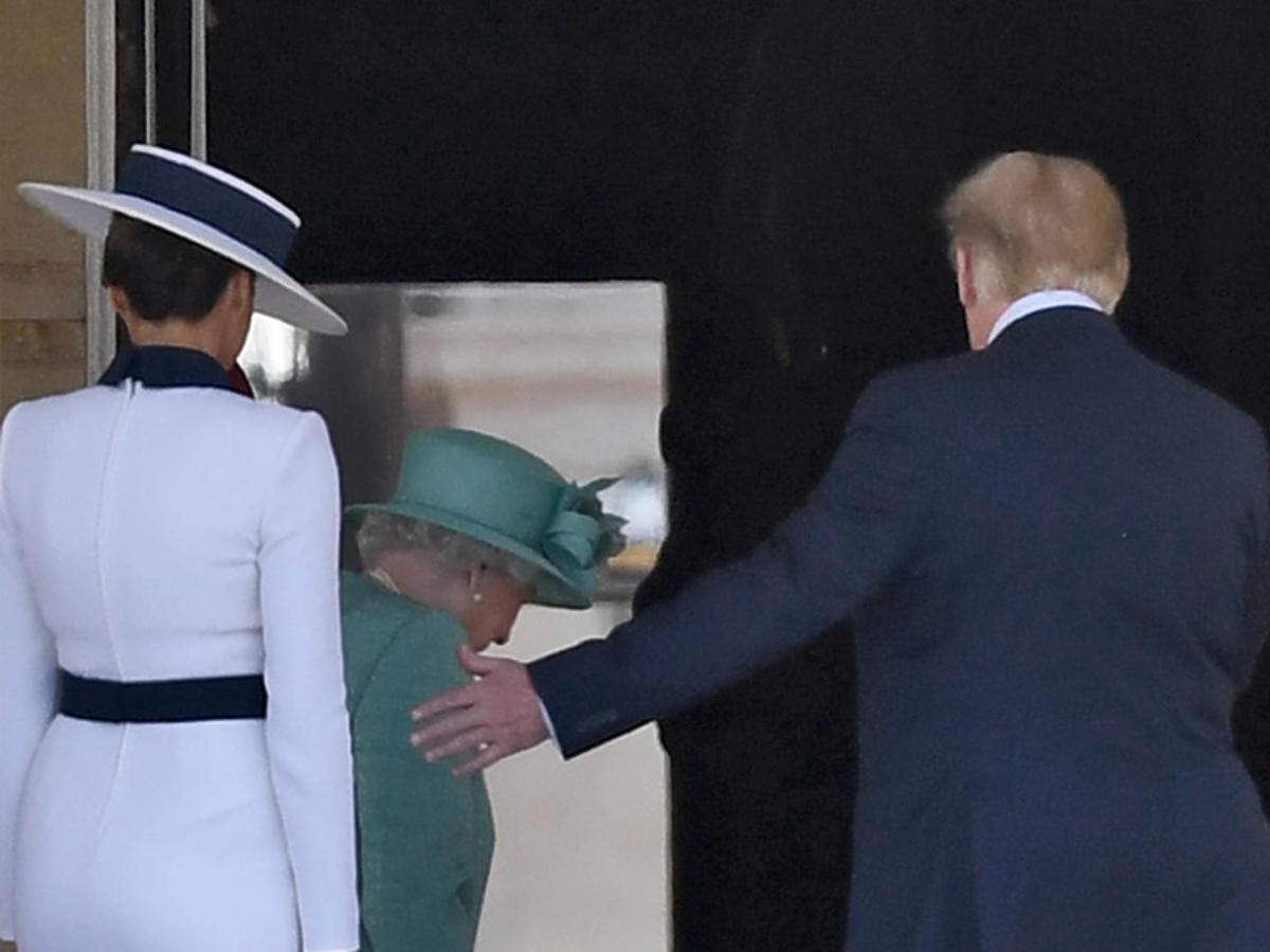 Wizyta Donalda Trumpa u królowej Elżbiety II