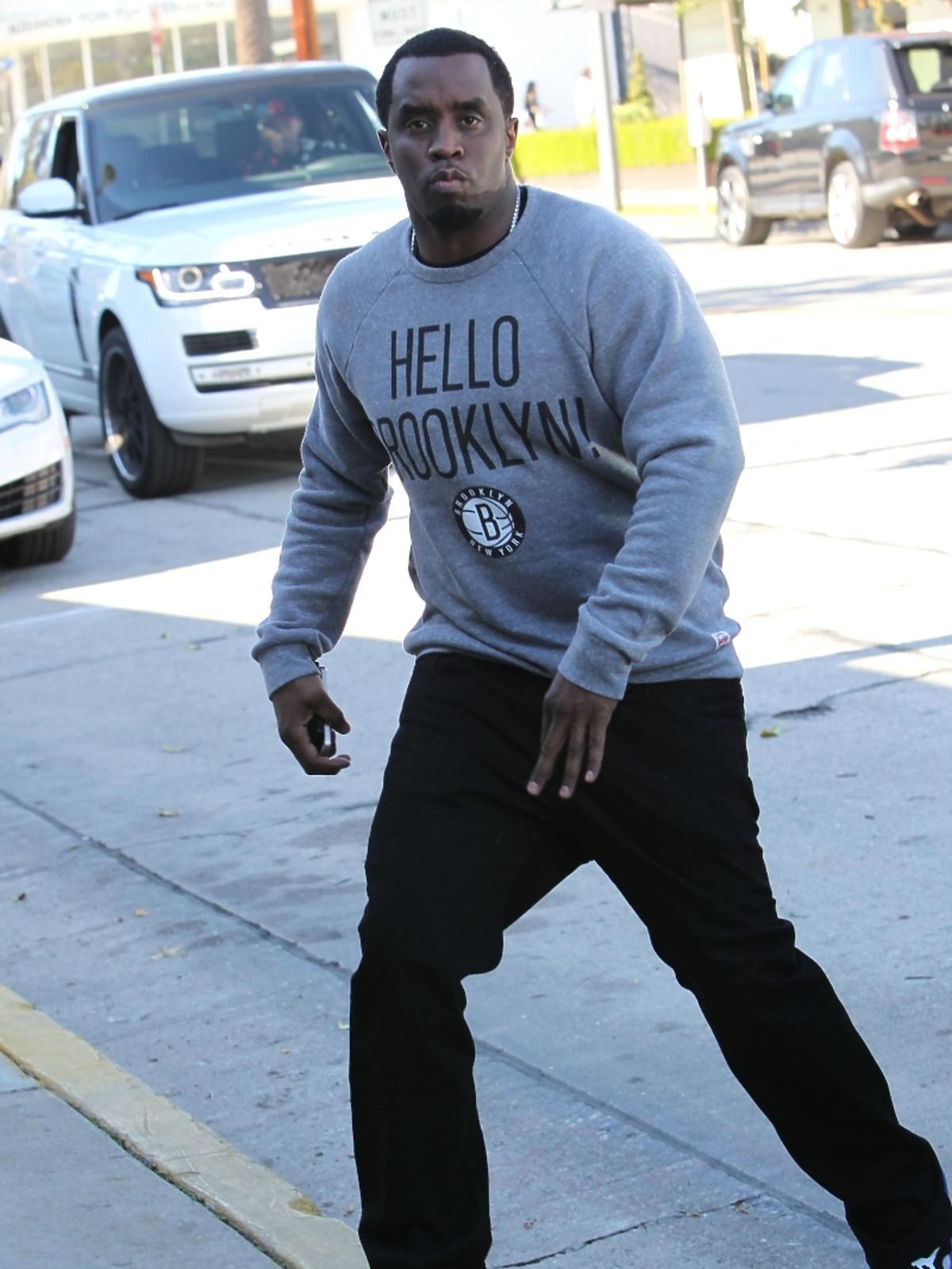 Wkurzony P. Diddy w Los Angeles