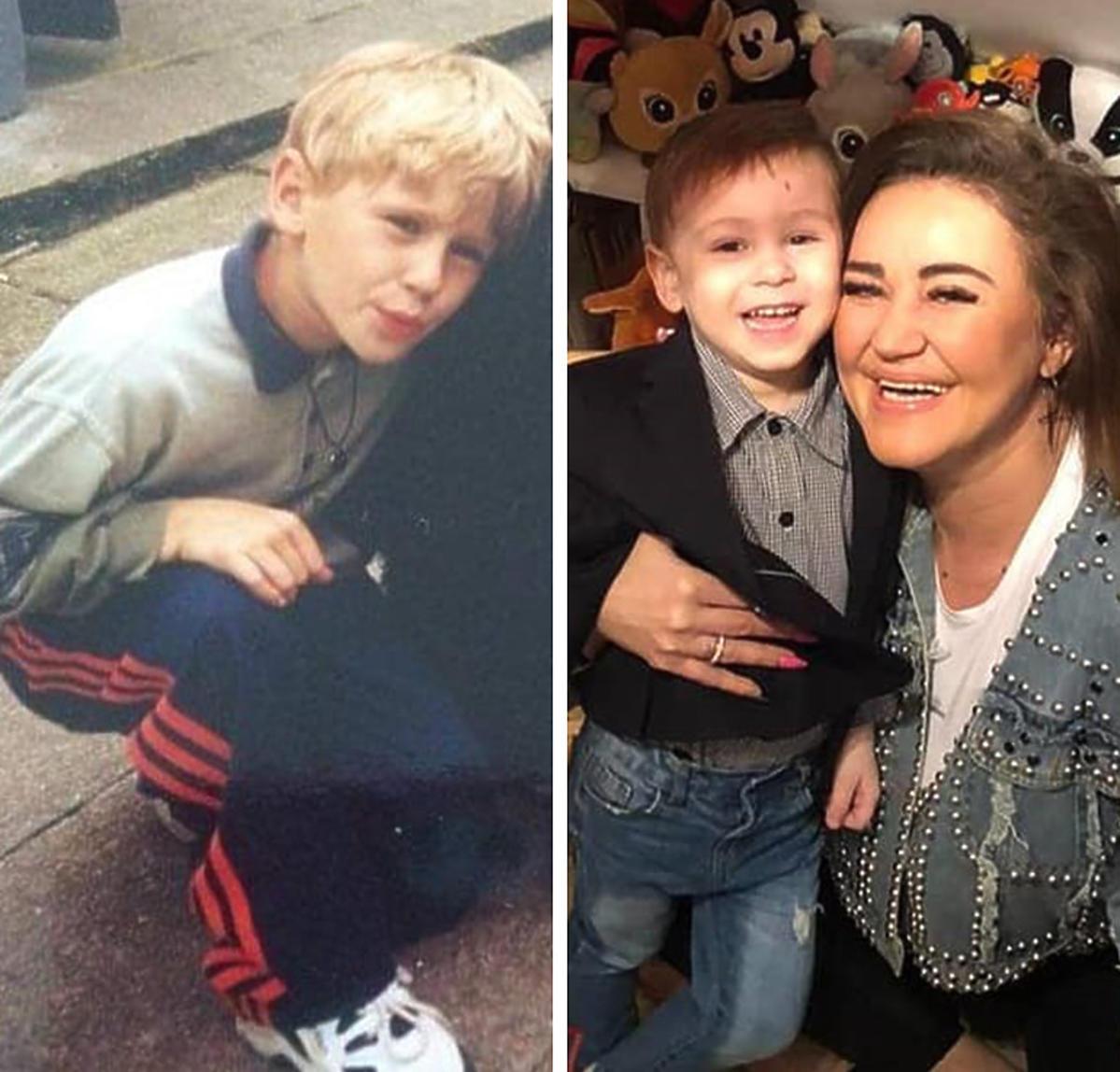 Wnuk Agnieszki Kotońskiej jest podobny do jej syna Dajana