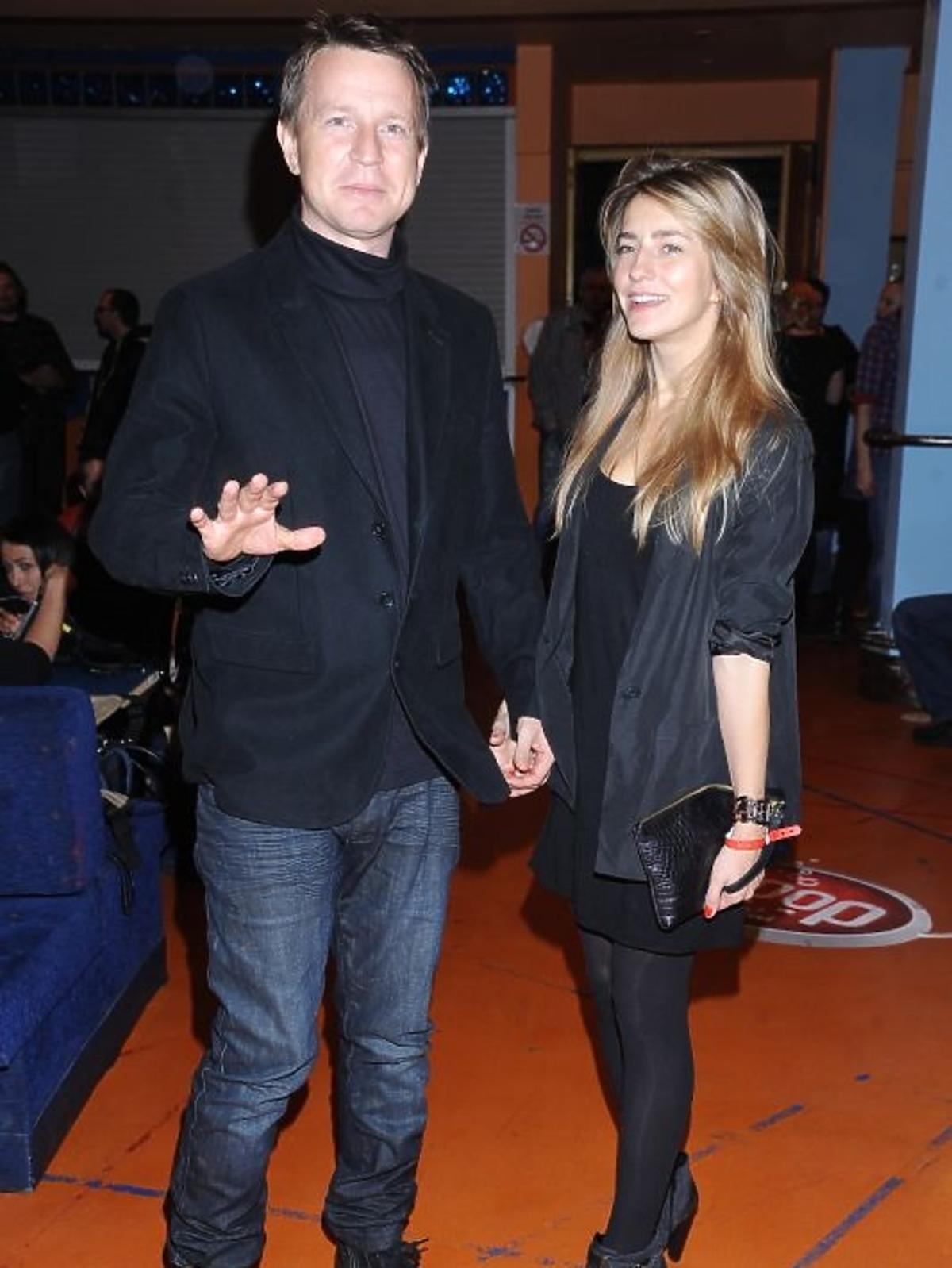 Wojciech Blach i Kamila Baar na urodzinach radia Eska Rock