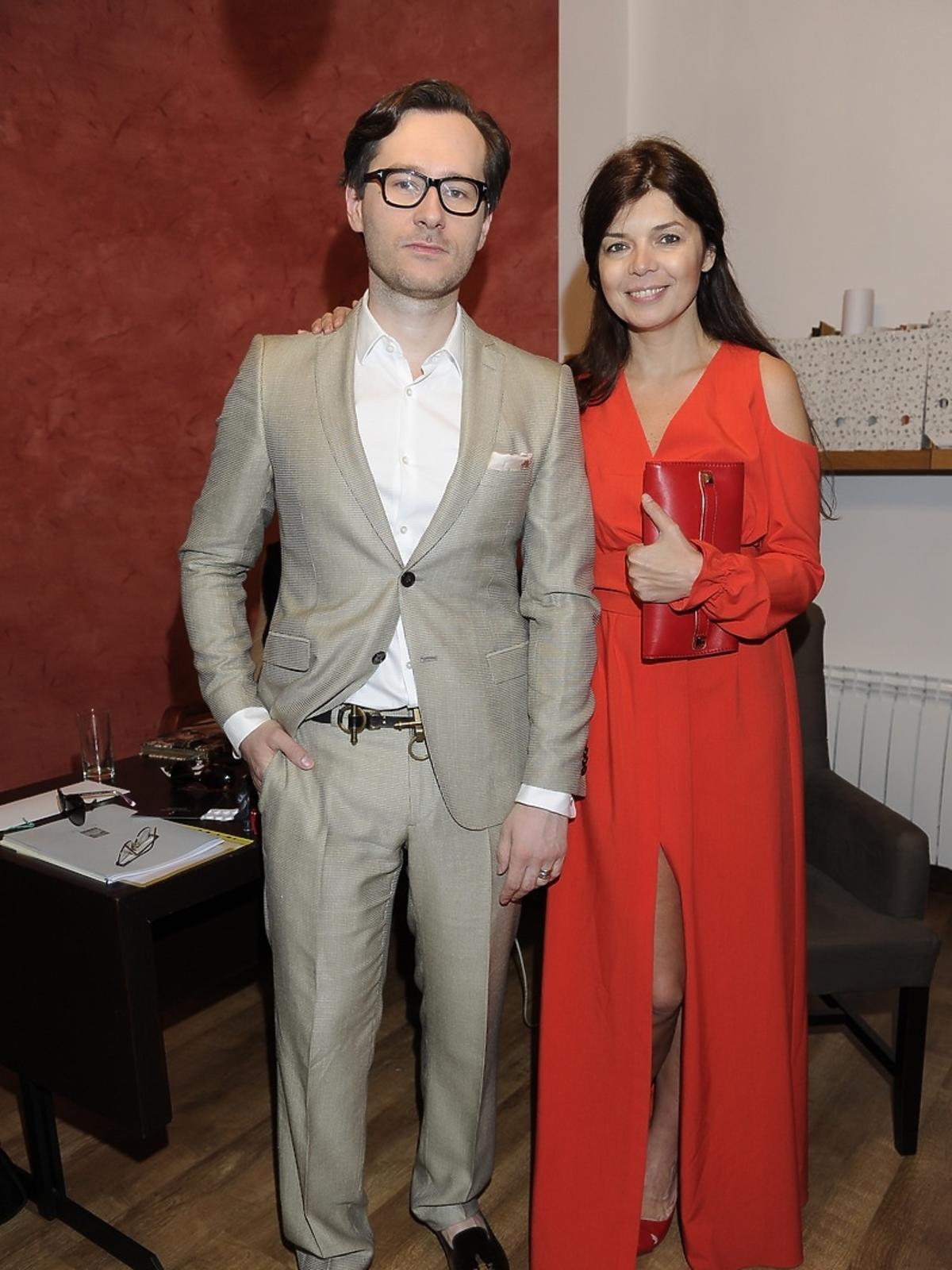 Wojciech Grzybała i Dorota Wróblewska na Off Fashion w Kielcach