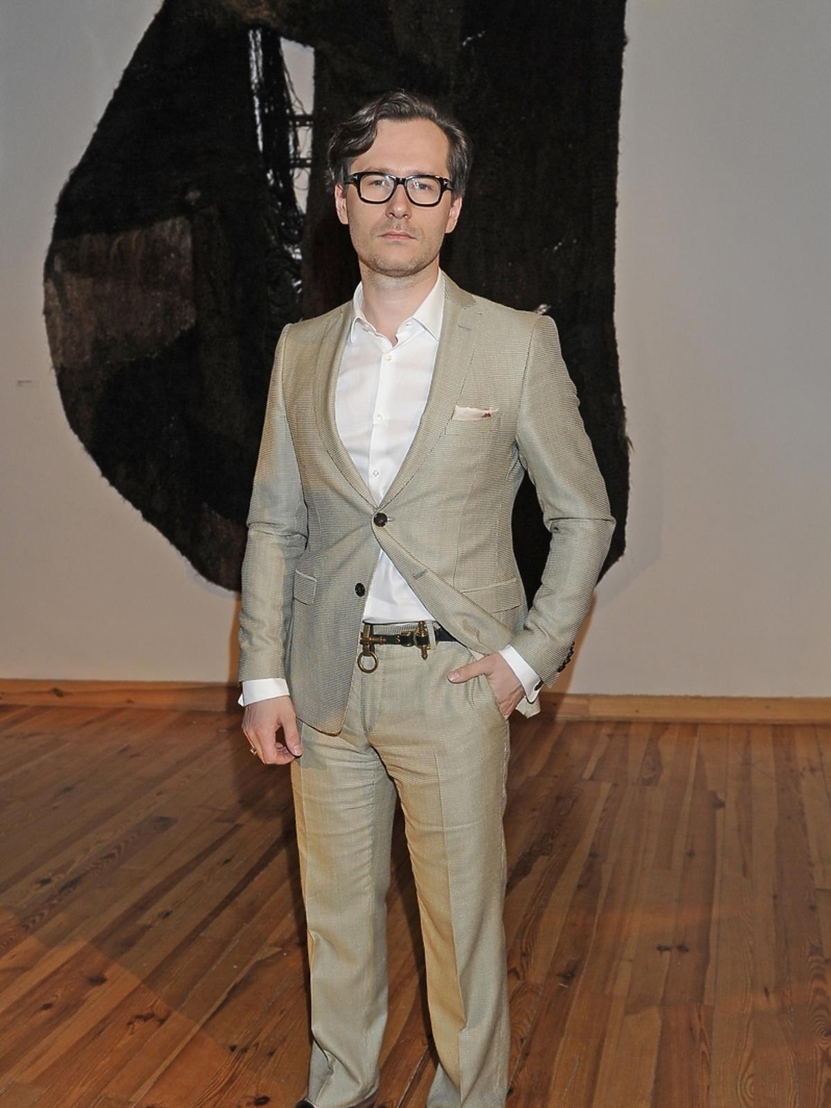 Wojciech Gzybała na Off Fashion w Kielcach