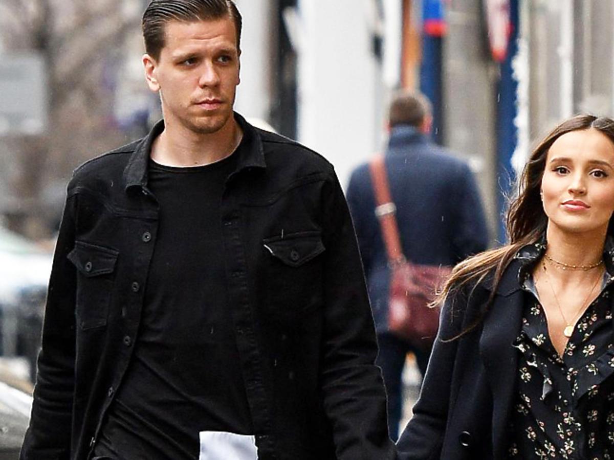 Wojciech i Marina Szczęśni na spacerze