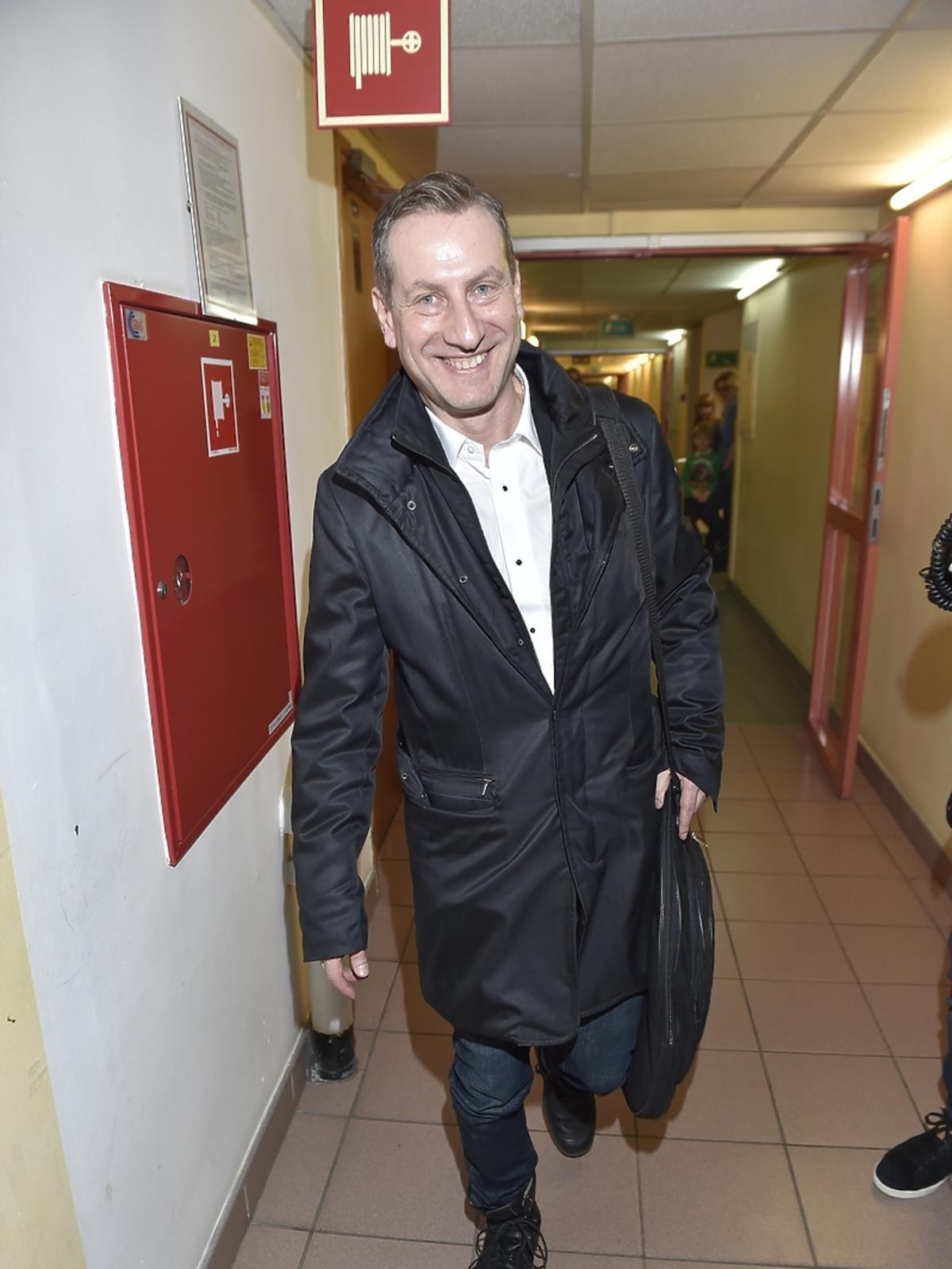 Wojciech Jagielski podczas 23. finału WOŚP