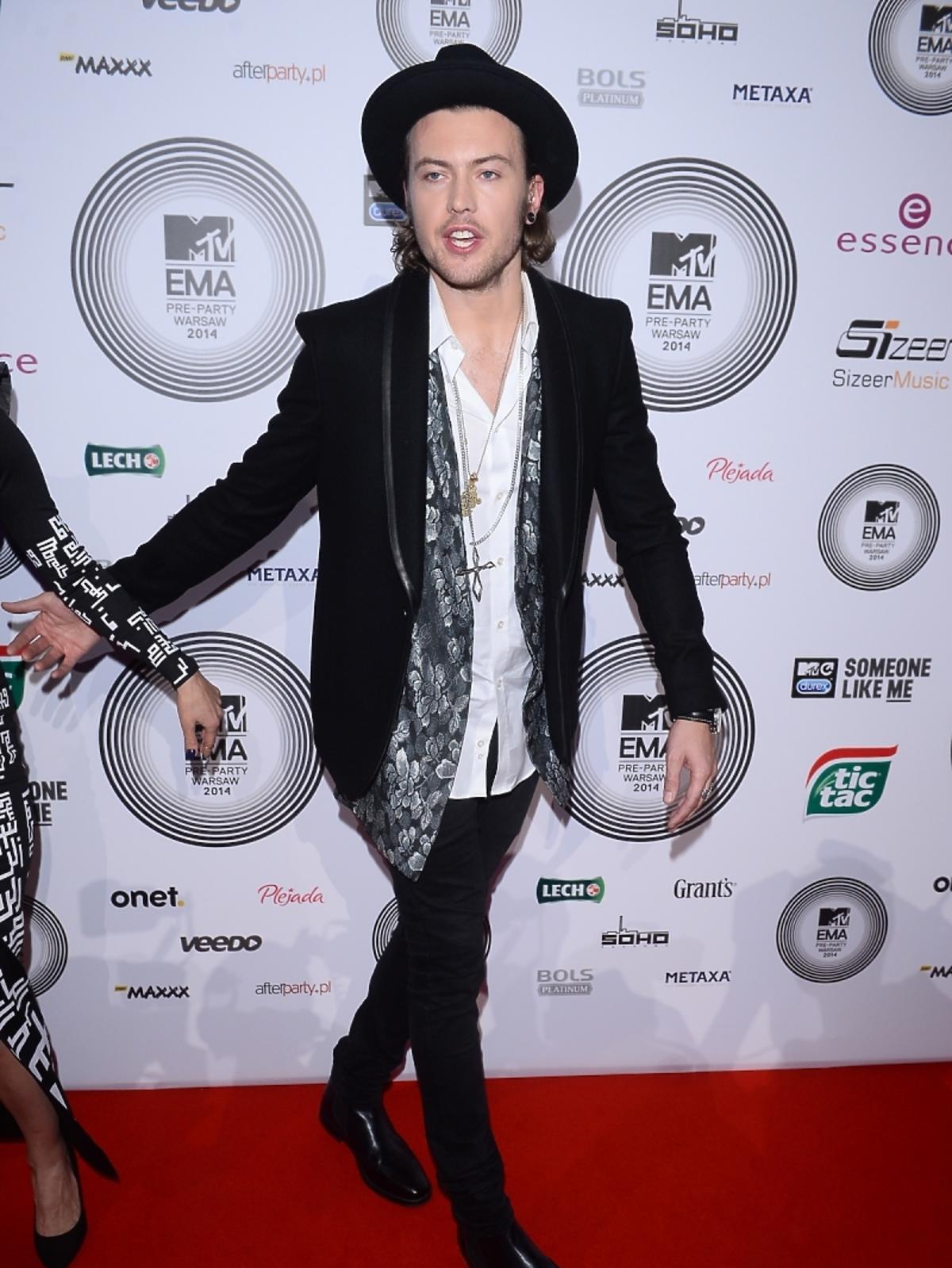Wojciech Łozo Łozowski na MTV EMA Pre-Party 2014