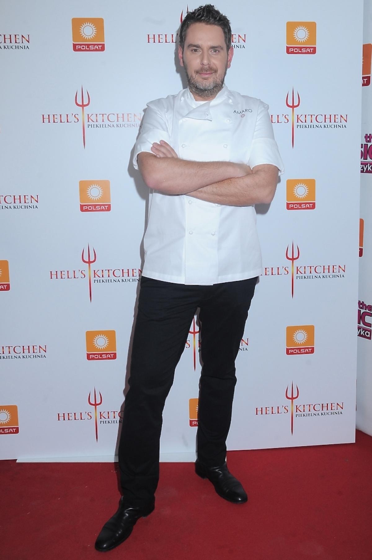 Wojciech Modest Amaro w finale drugiej edycji Hell's Kitchen