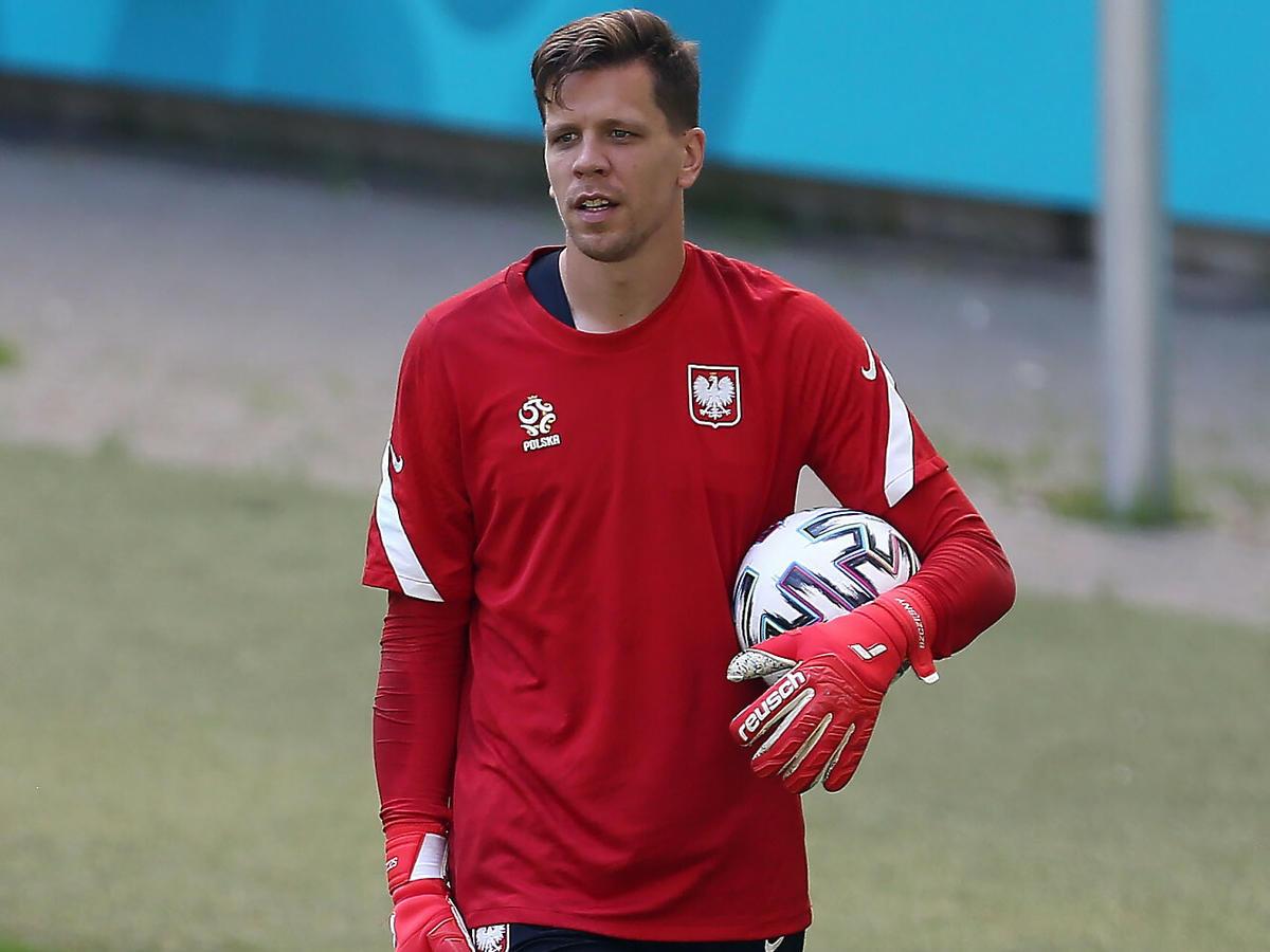 Wojciech Szczęsny na treningu