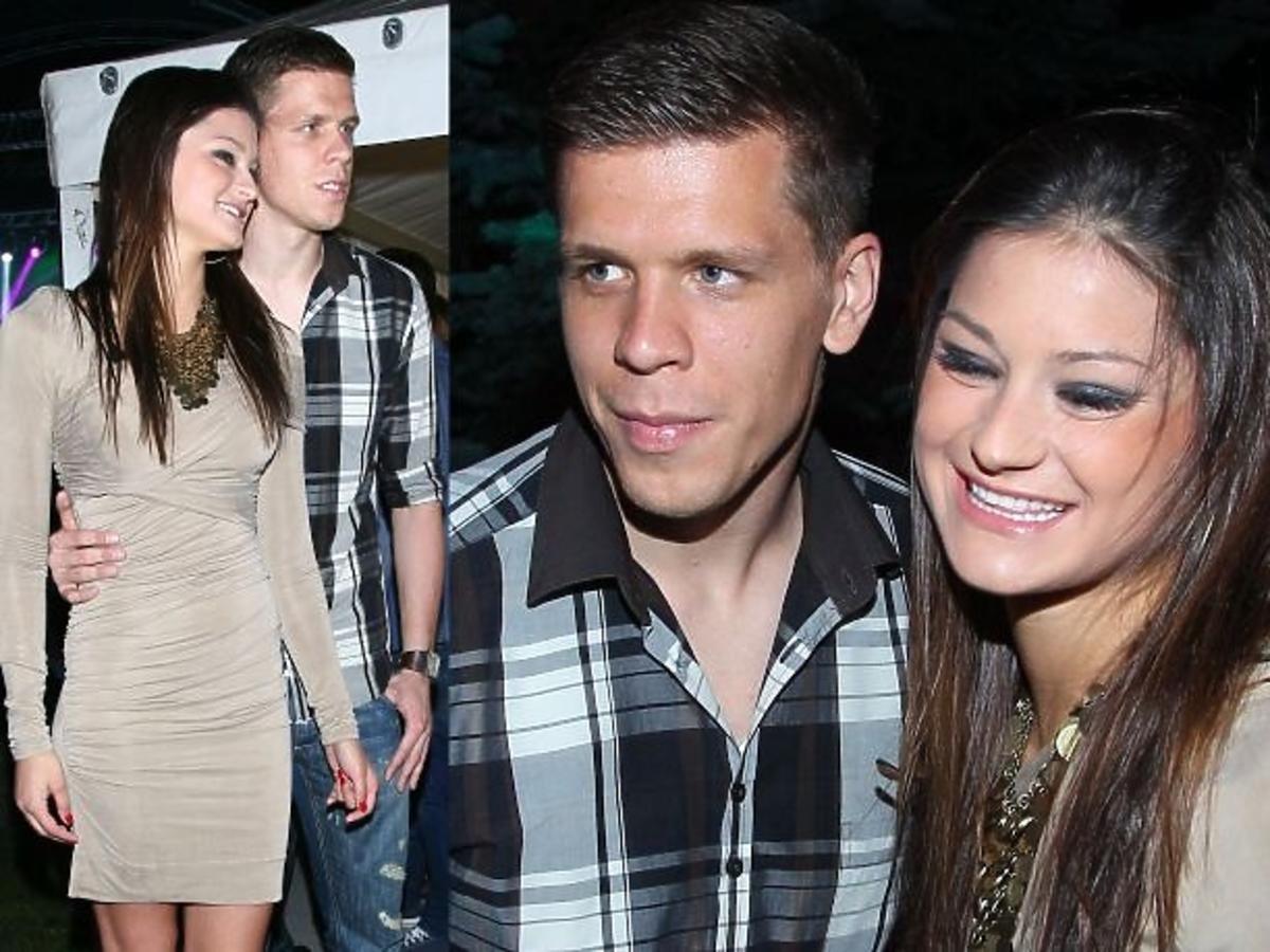 Wojciech Szczęsny z dziewczyną na imprezie Playboya