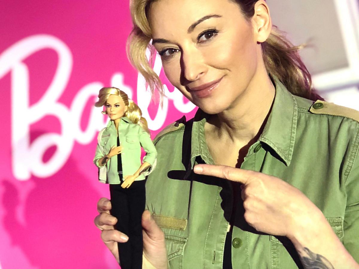 Wojciechowska została lalką Barbie!