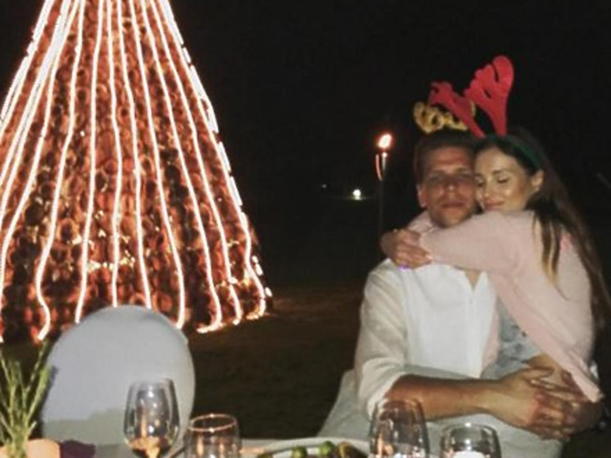 Wojtek Szczęsny i Marina Łuczenko na wakacjach w Tajlandii