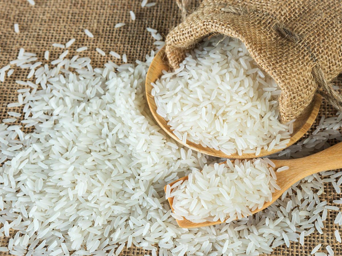 Worek ryżu.