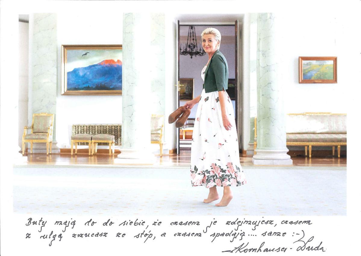 WOŚP - Agata Duda