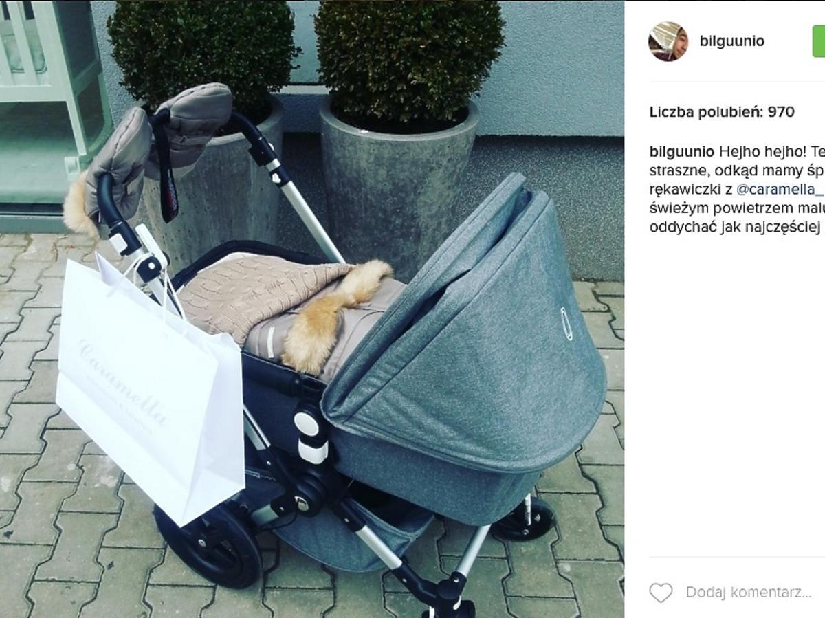 wózek córki Bilguna