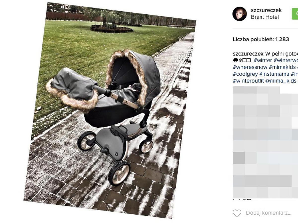 wózek córki Wesołowskiego