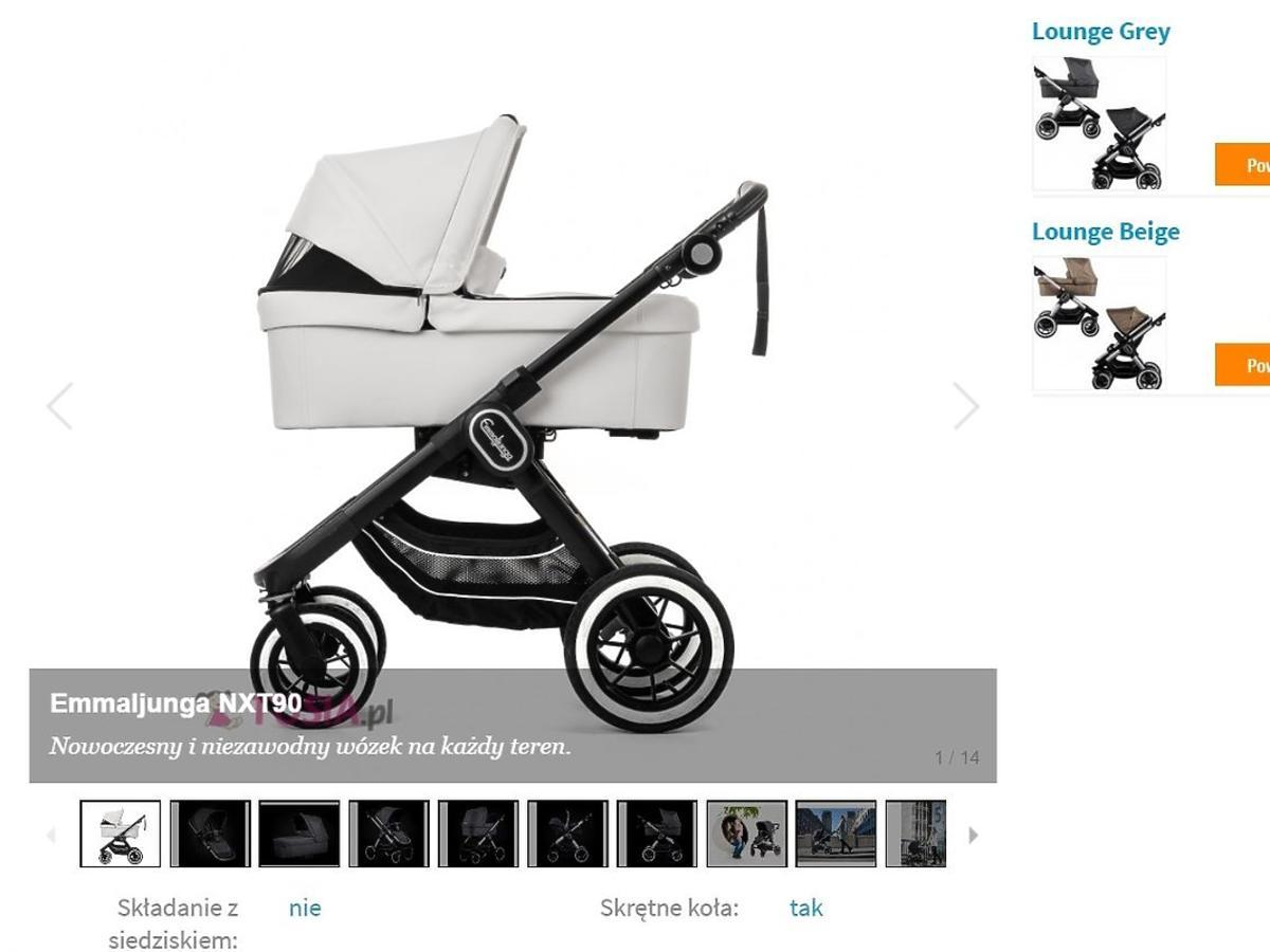 wózek dziecięcy Emmaljunga