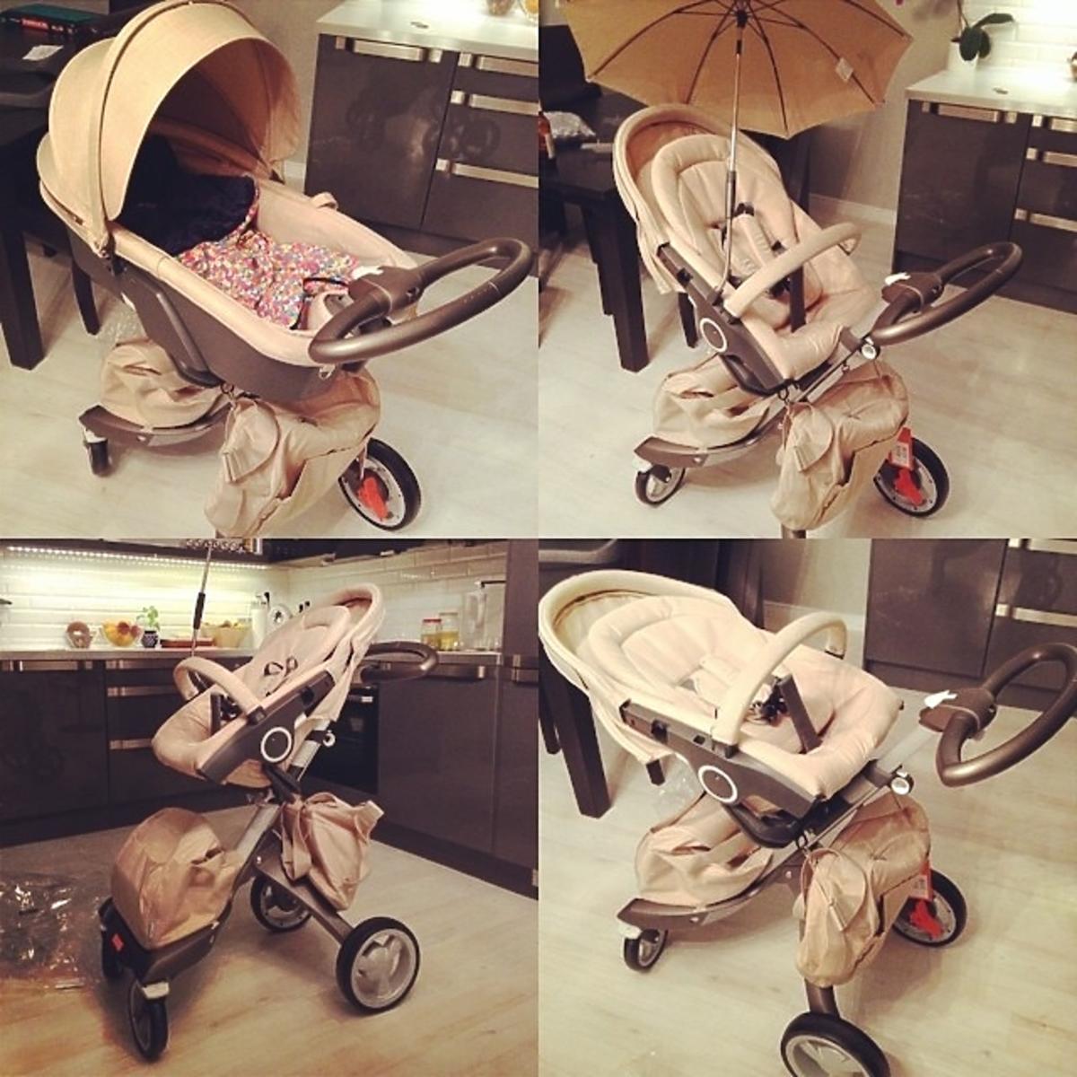 Wózek dziecka Ali Janosz