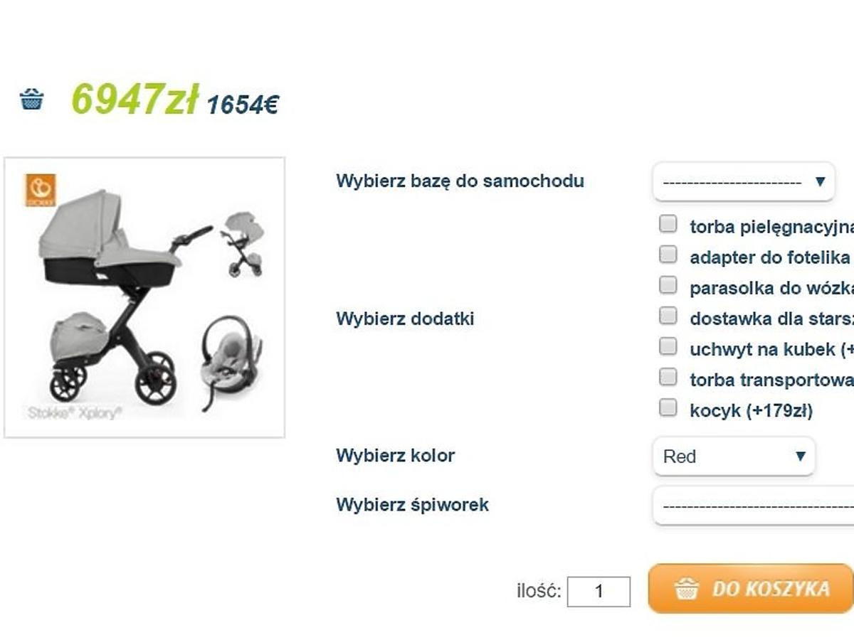wózek Stokke Xplory V5
