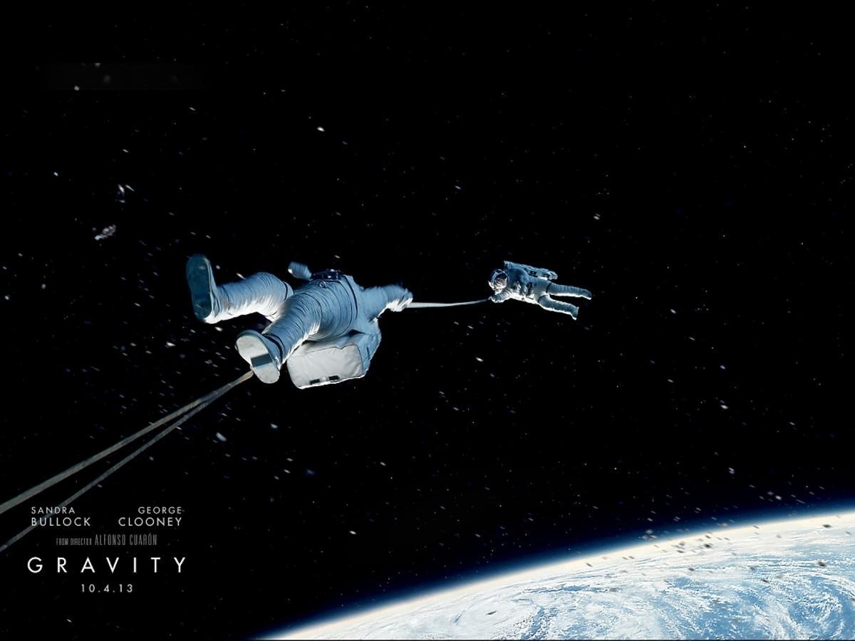 Wpadki w Grawitacji. Ciekawostki o Grawitacji
