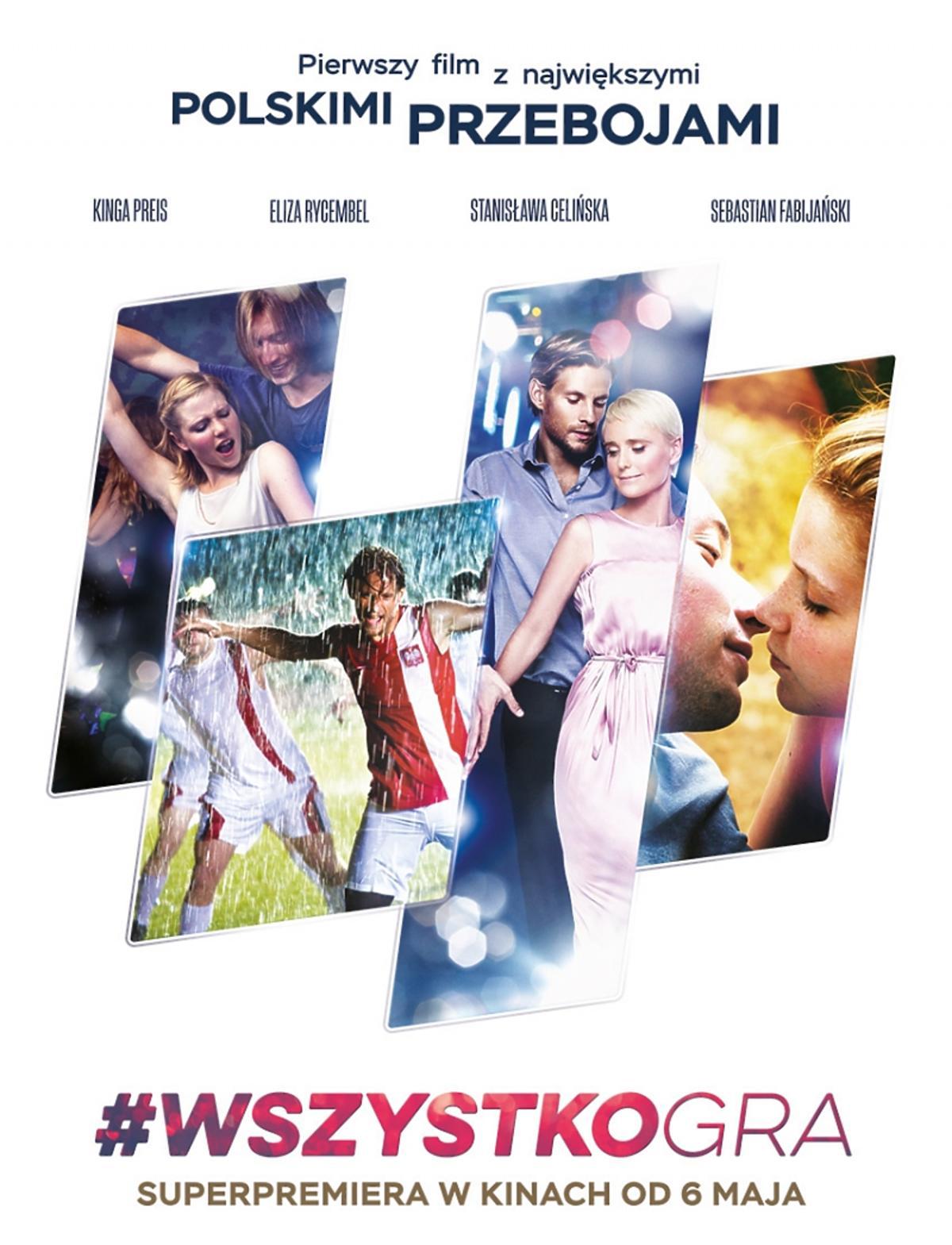 #WszystkoGra plakat filmu