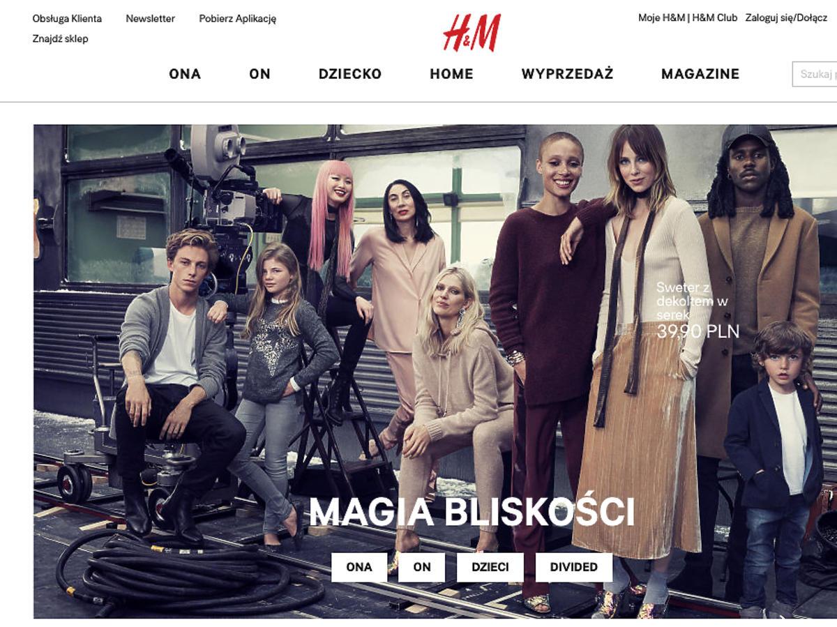 Wyprzedaż 2016 H&M - jesień zima. Mid season sale