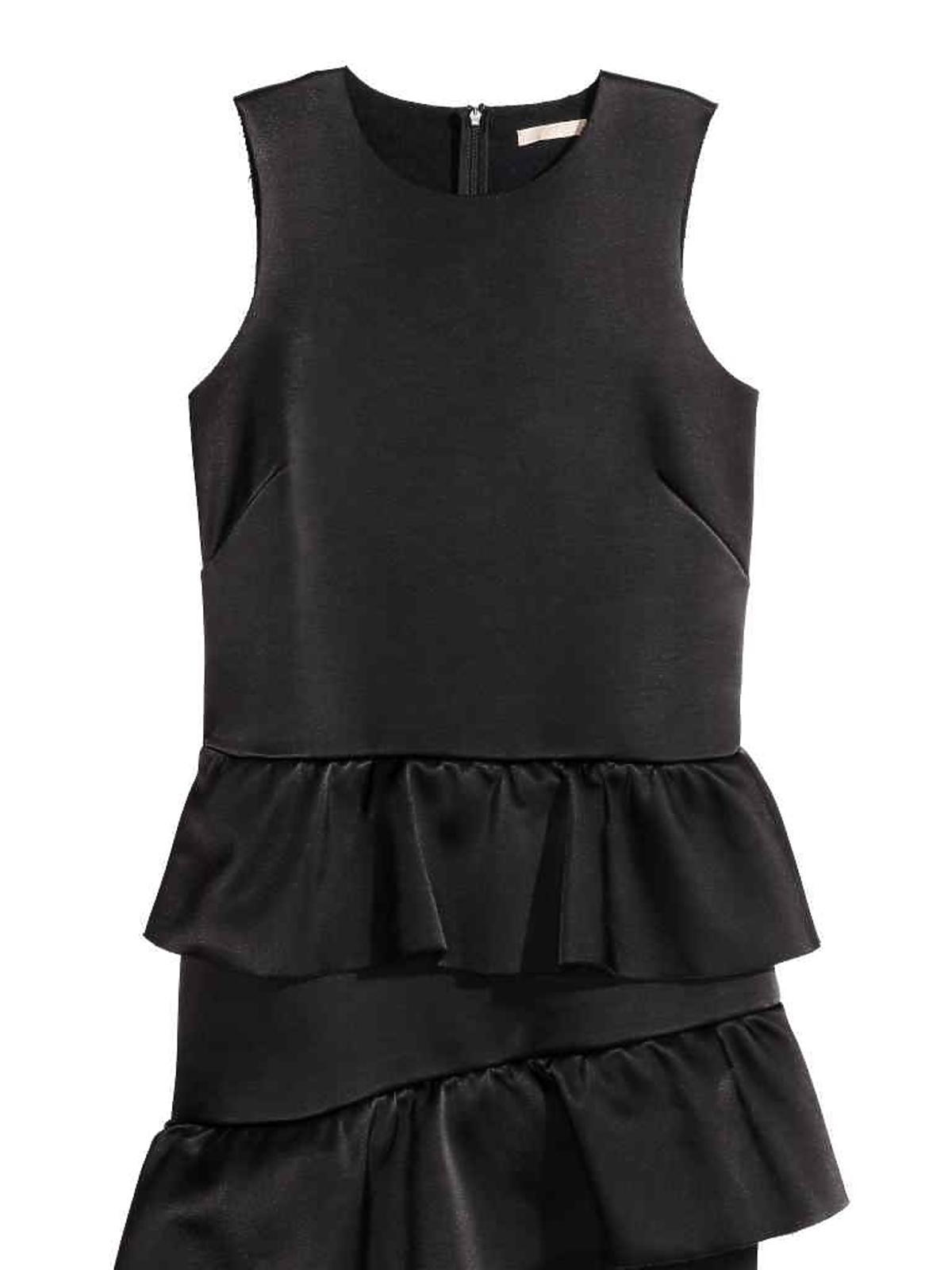 Wyprzedaż H&M 2016: Sukienka z falbanami 114,90 zł (przecena z 229 zł)