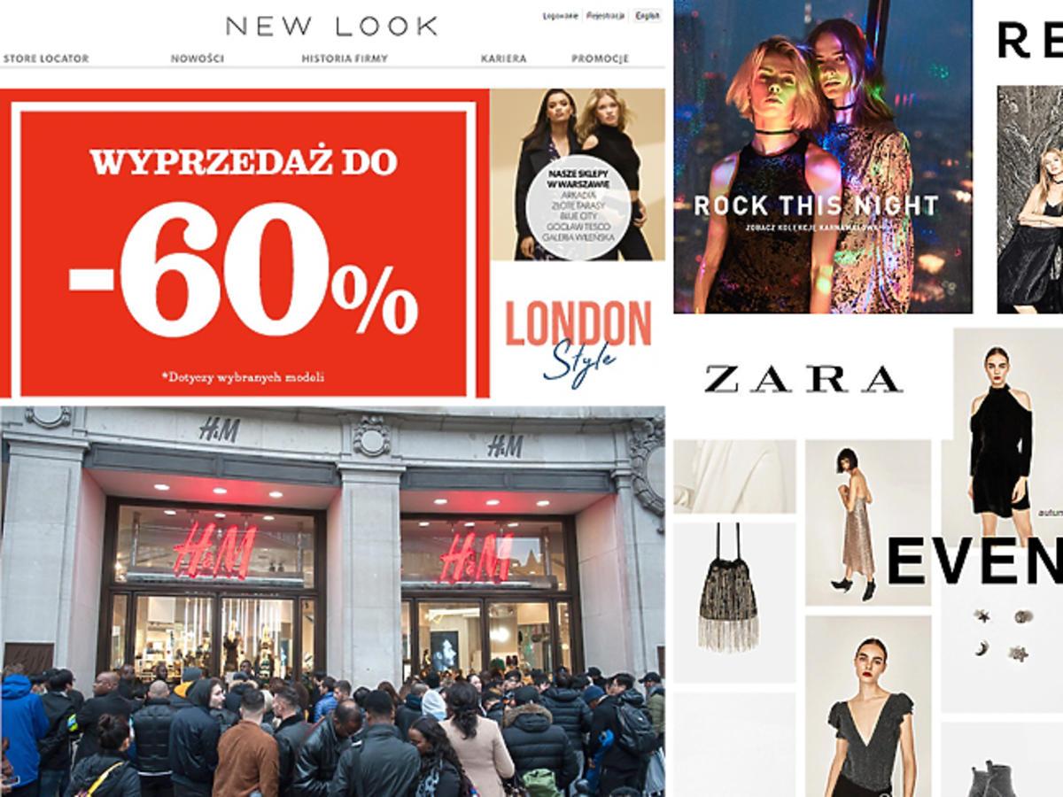 Wyprzedaż zima 2016: Zara, H&M, Reserved, Mohito, Bershka, H&M Home, Zara Home, New Look