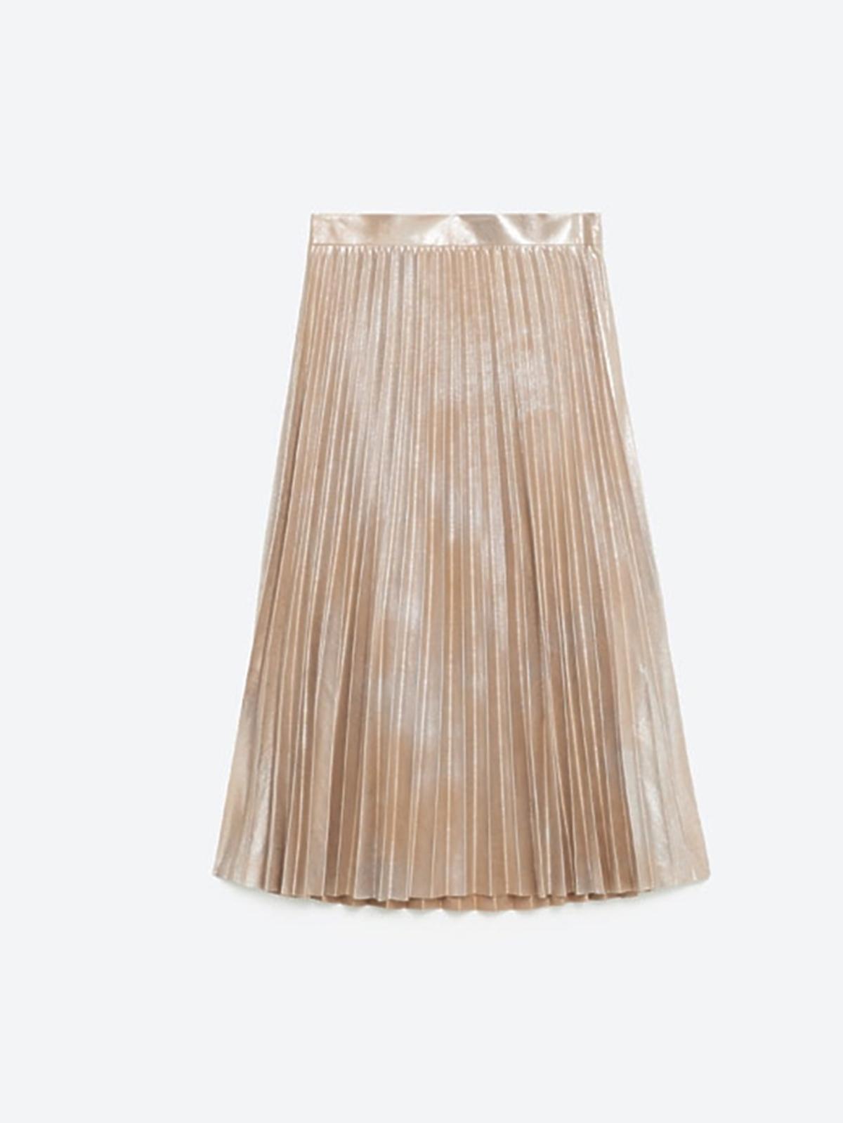 Wyprzedaż zimowa 2016: Plisowana spódnica, Zara, przeceniona z 199,00 zł na 119,00 zł