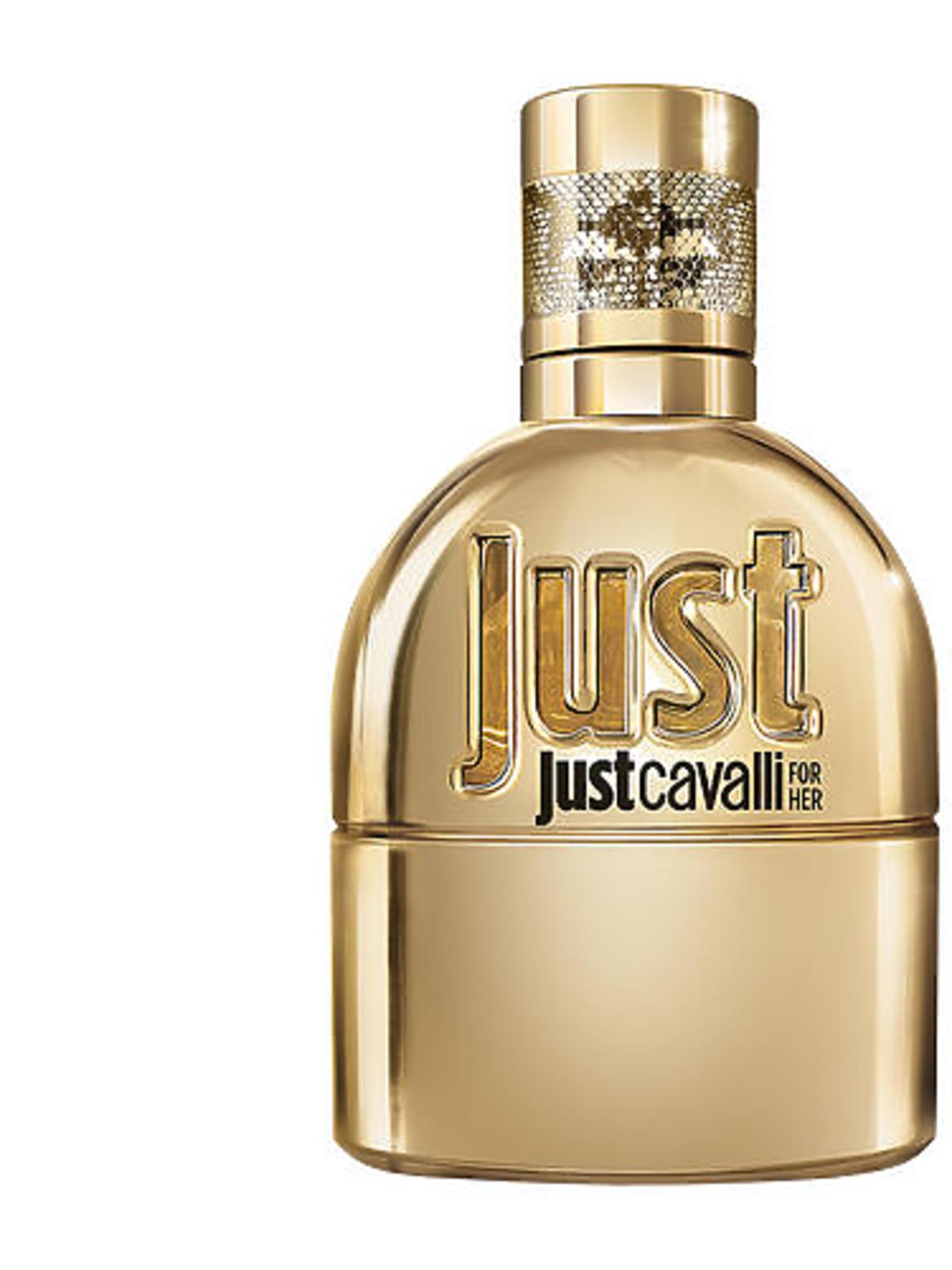 Wyprzedaże Sephora 2016 zima: perfumy Roberto Cavalli Just Gold Women Woda Perfumowana 30 ml, cena: 119 zł (ze 195 zł)